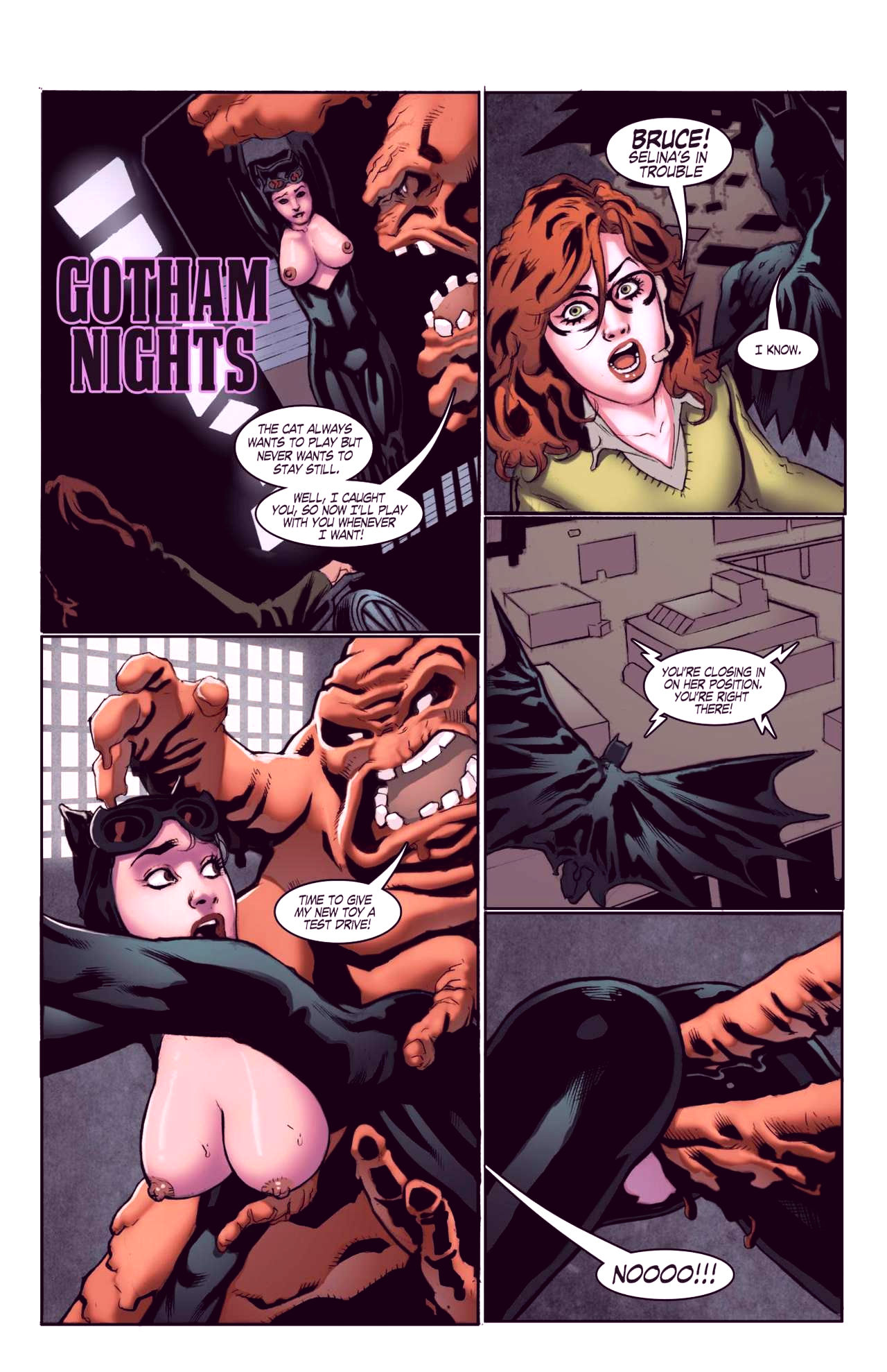 Superheroes after dark extreme porn comic picture 21