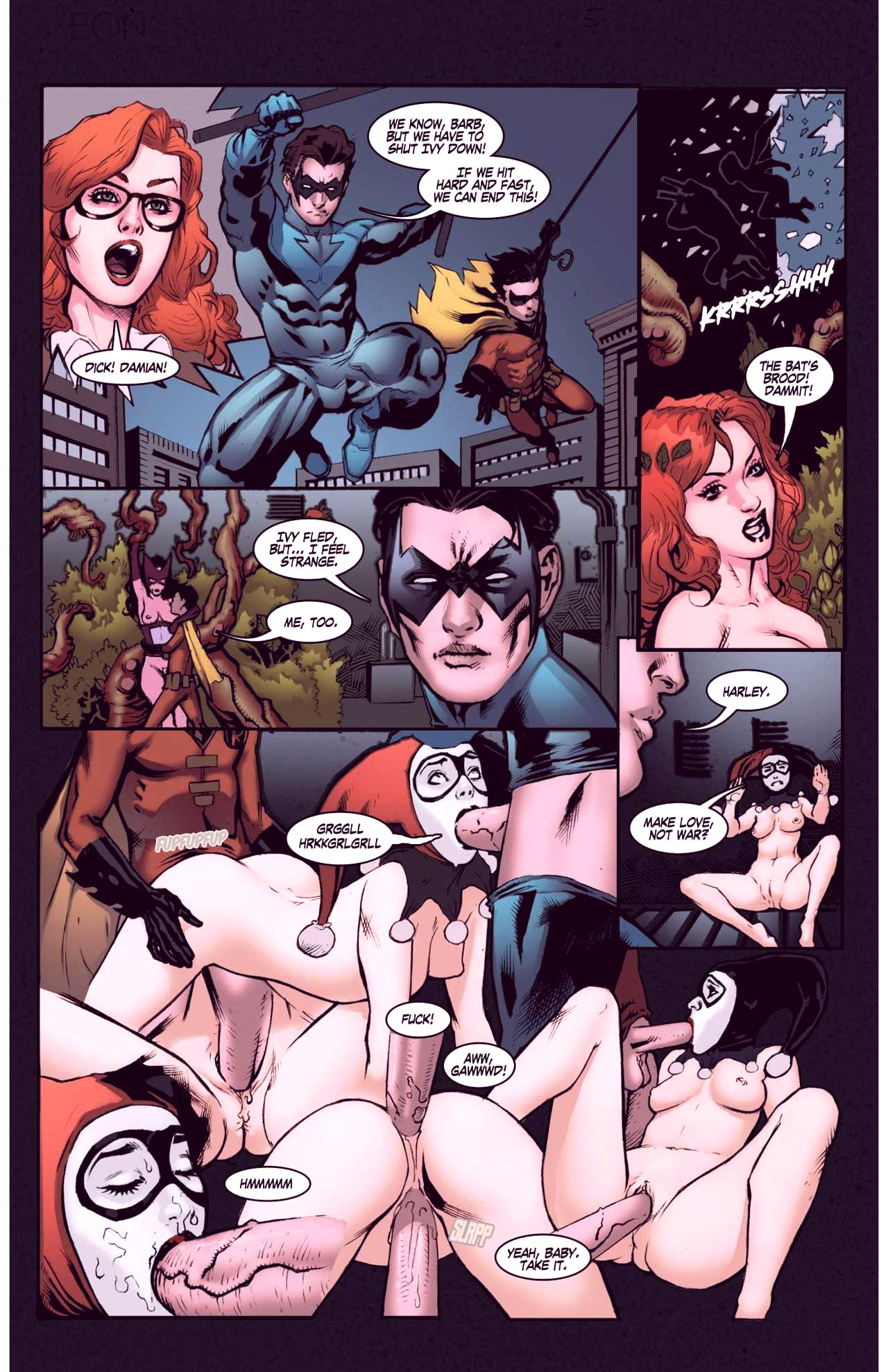 Superheroes after dark extreme porn comic picture 25