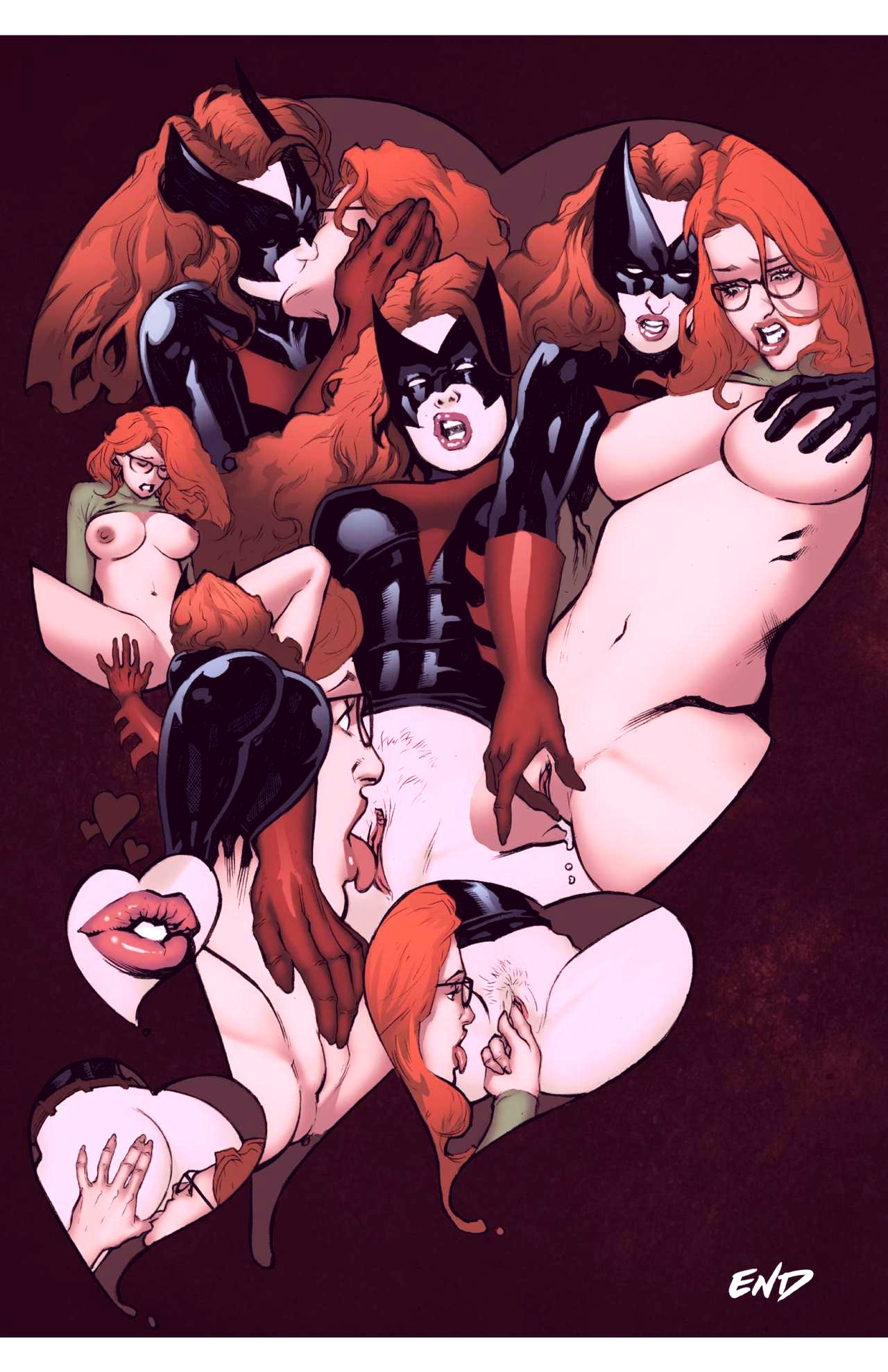 Superheroes after dark extreme porn comic picture 30