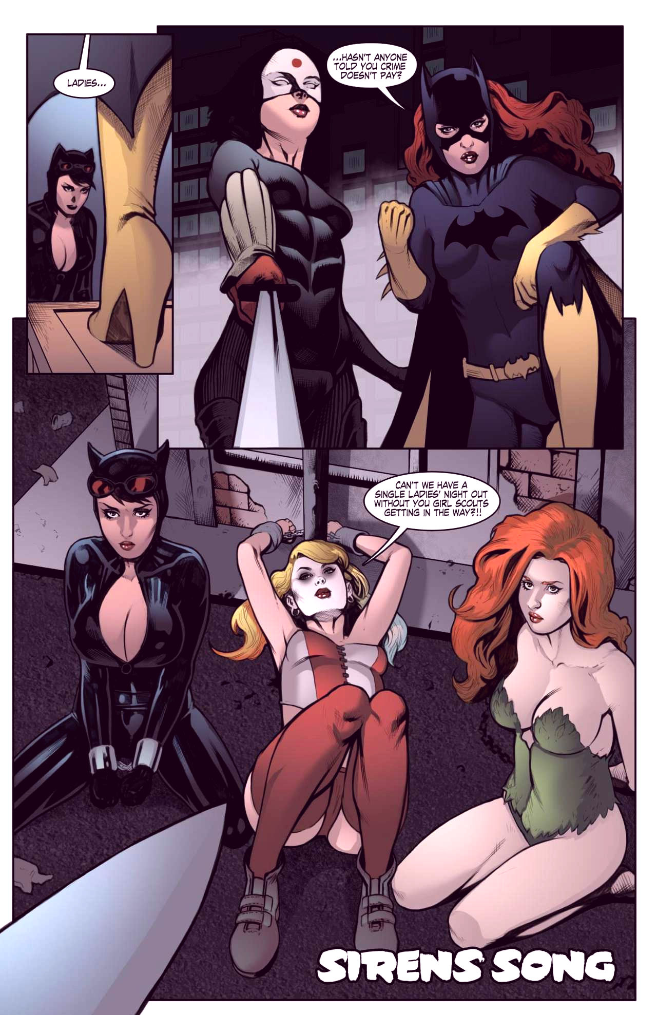 Superheroes after dark extreme porn comic picture 45