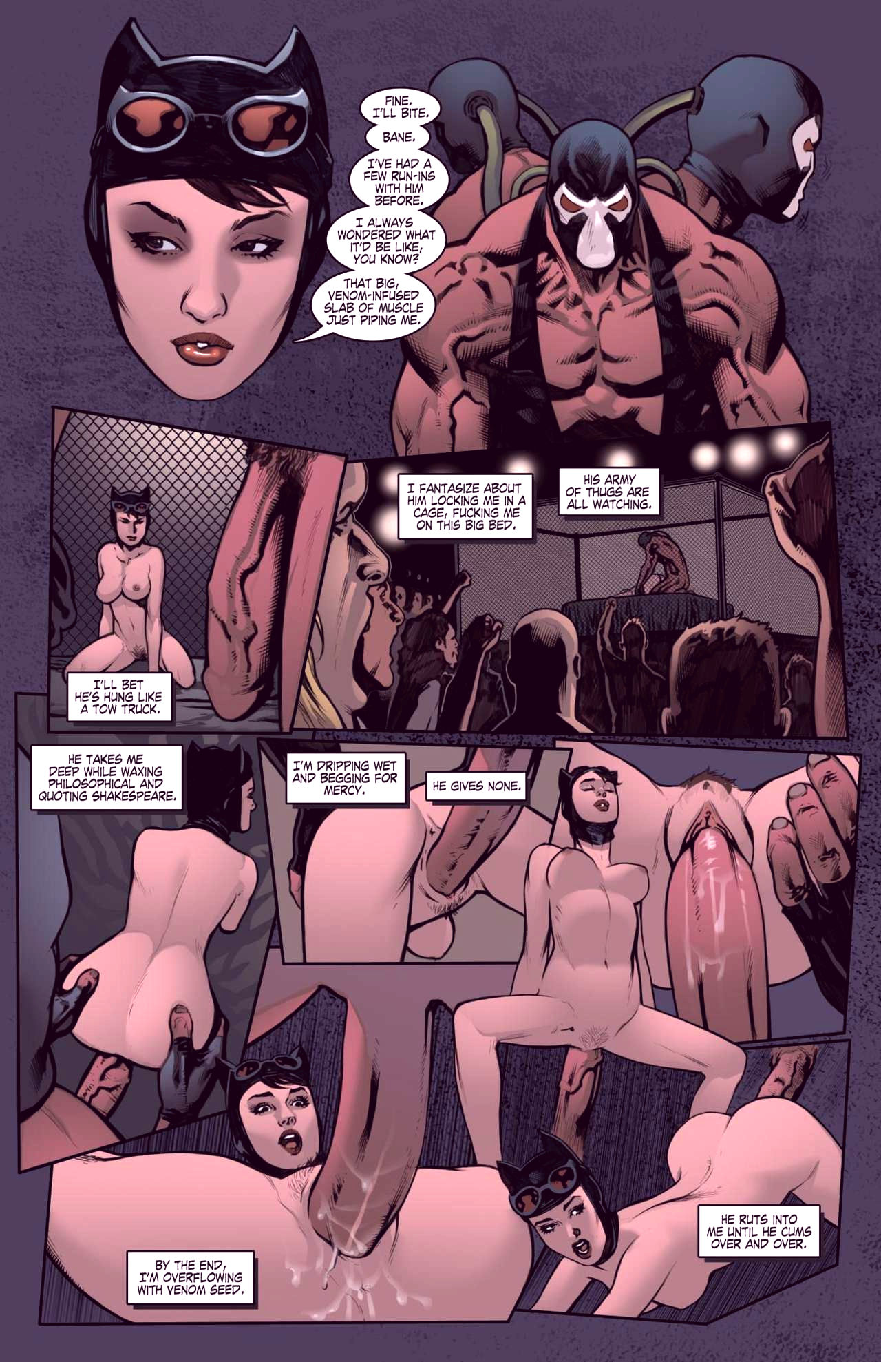 Superheroes after dark extreme porn comic picture 47