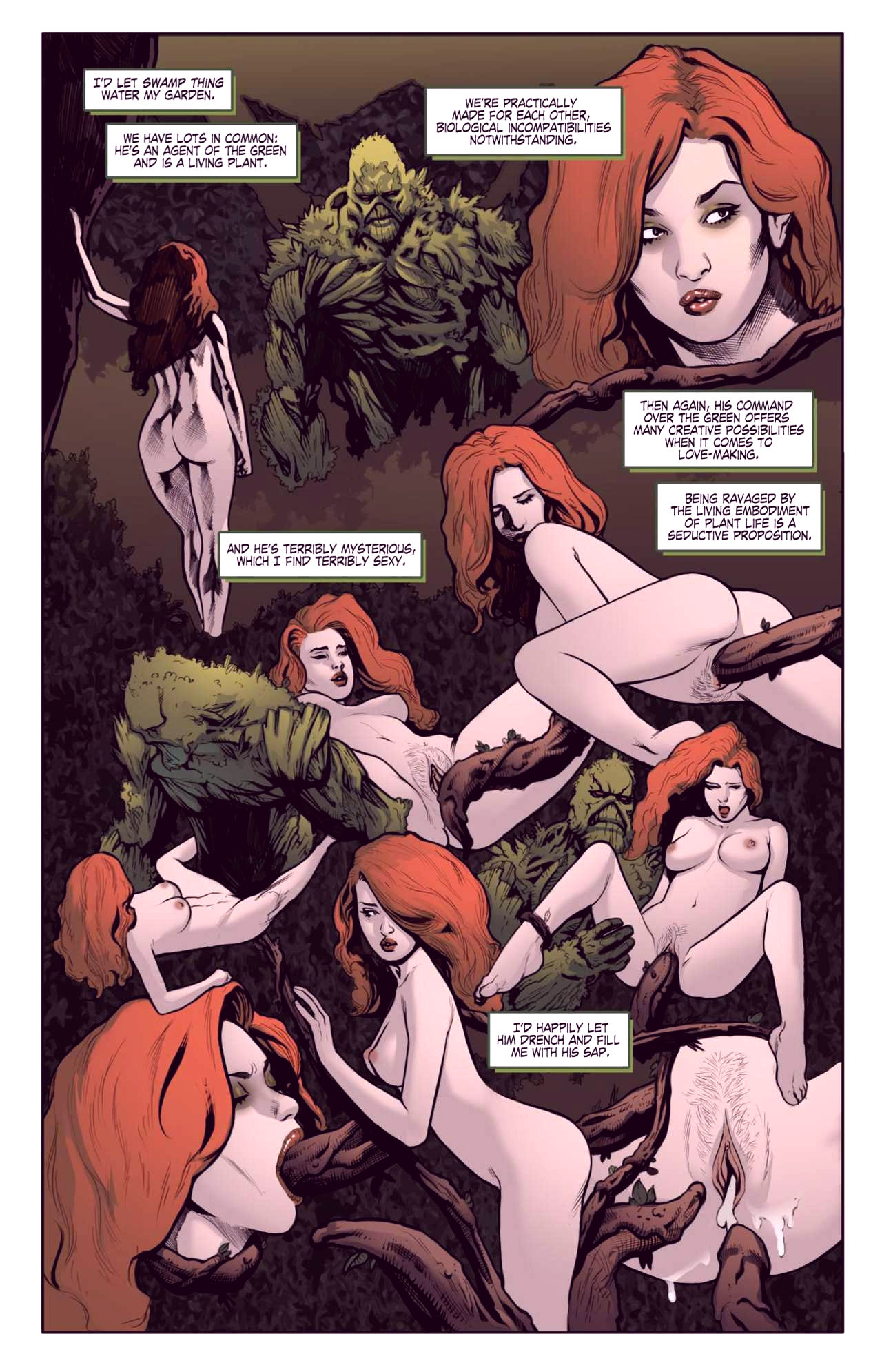 Superheroes after dark extreme porn comic picture 48