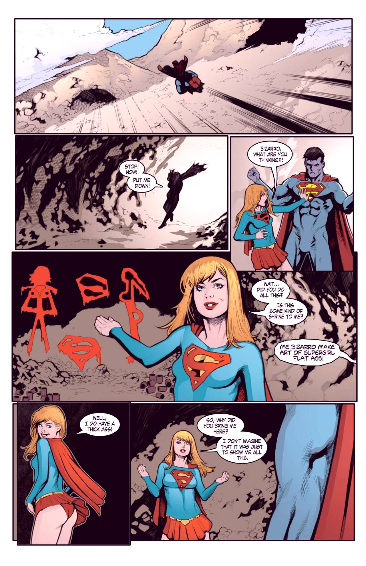 Superheroes after dark extreme porn comic picture 5