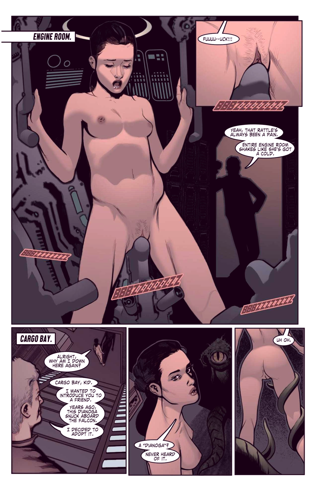 Superheroes after dark extreme porn comic picture 58