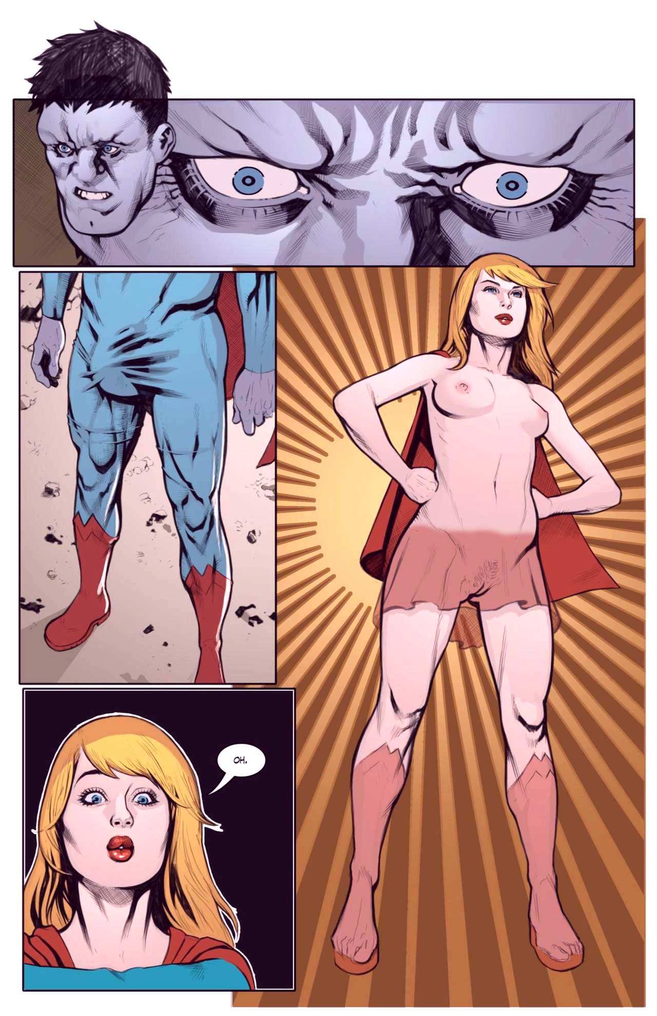Superheroes after dark extreme porn comic picture 6