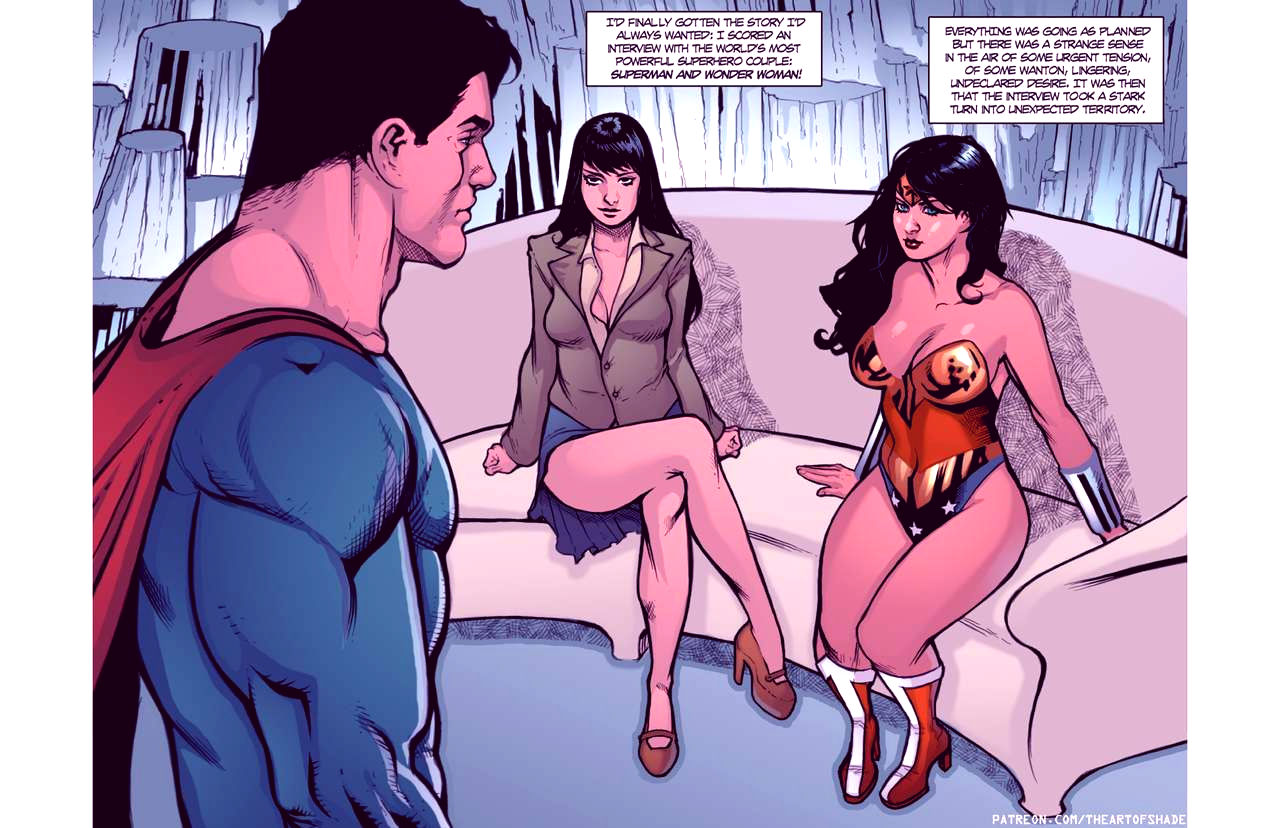 Superheroes after dark extreme porn comic picture 68