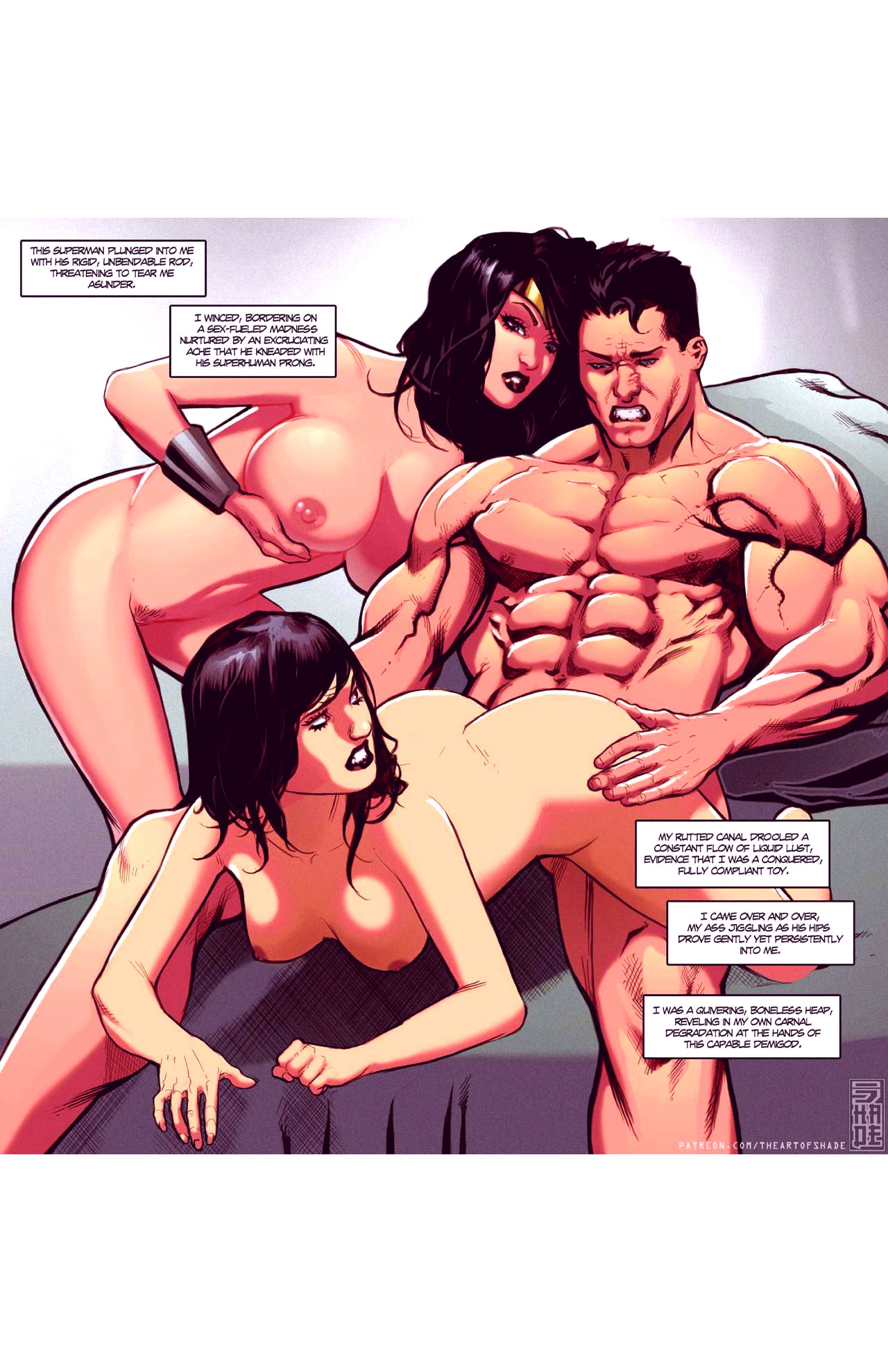 Superheroes after dark extreme porn comic picture 71