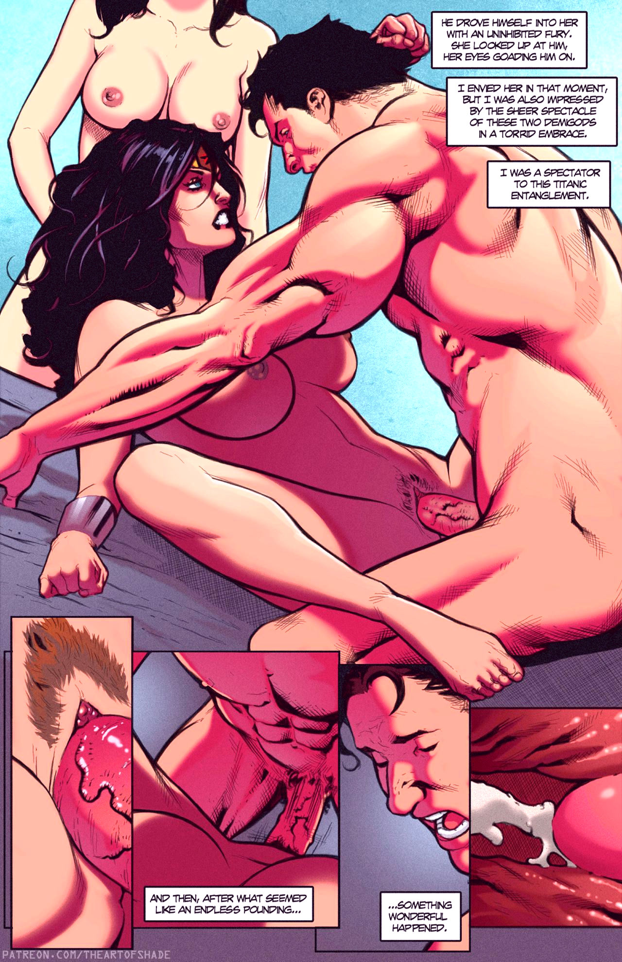 Superheroes after dark extreme porn comic picture 74