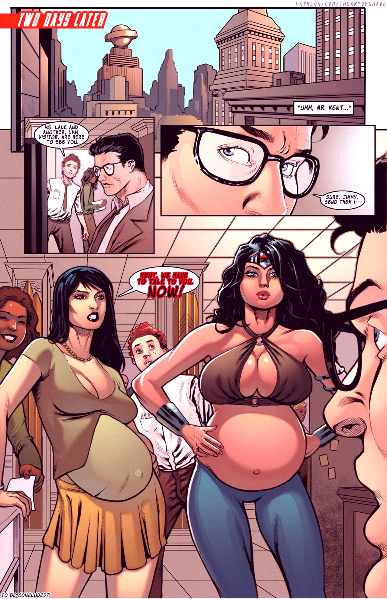 Superheroes after dark extreme porn comic picture 76