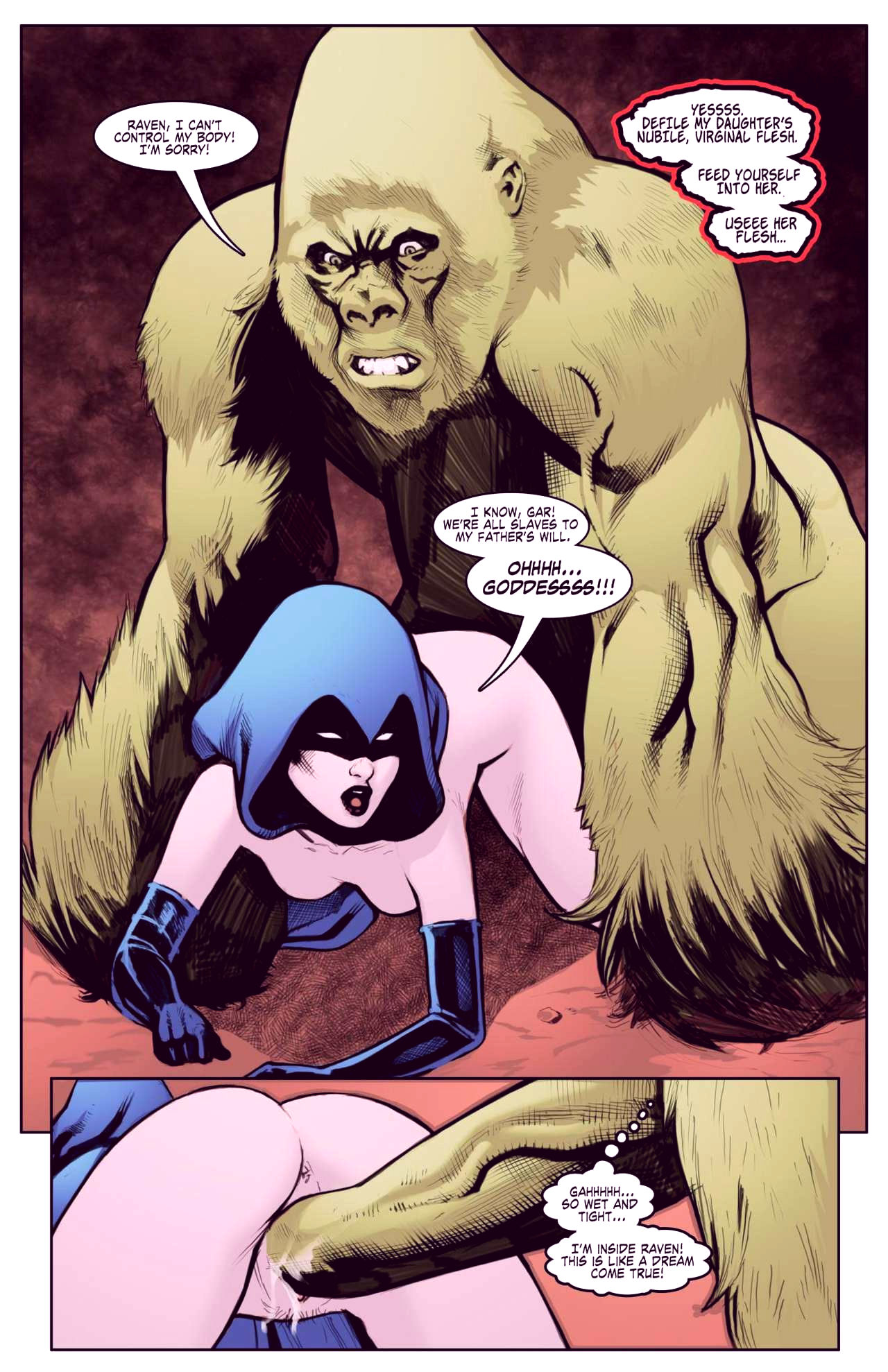 Superheroes after dark extreme porn comic picture 78