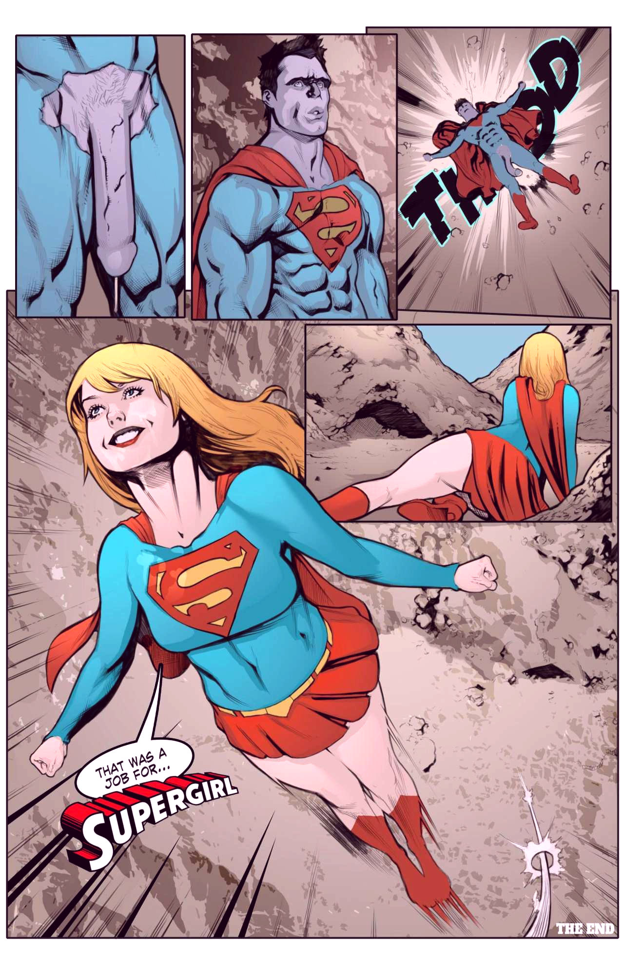 Superheroes after dark extreme porn comic picture 9