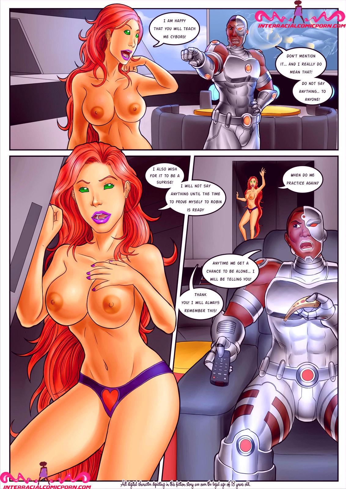 Superheroes porn comic picture 10