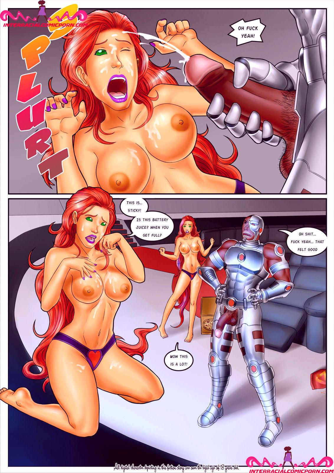 Superheroes porn comic picture 8