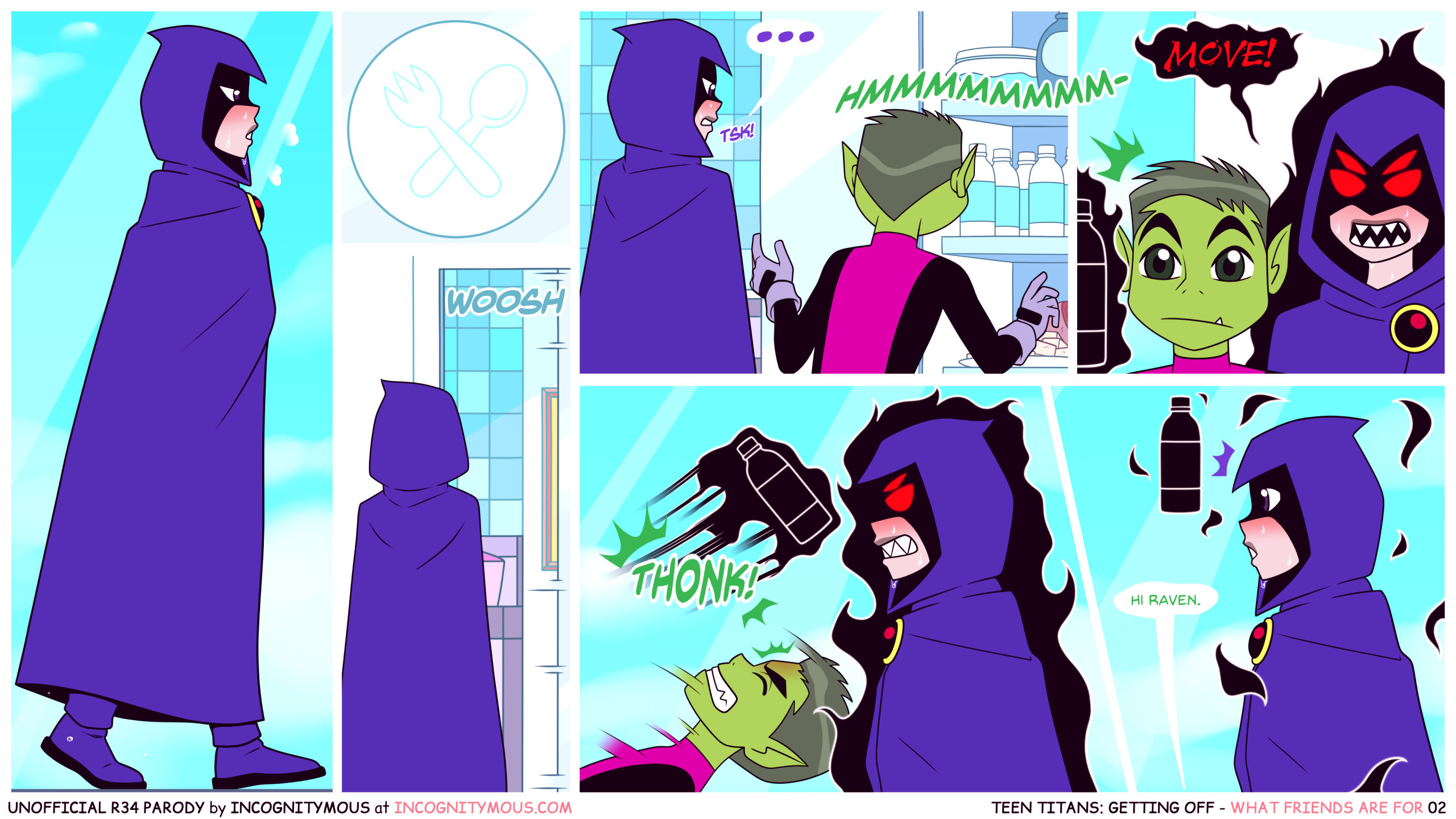 Teen titans getting off porn comic picture 2