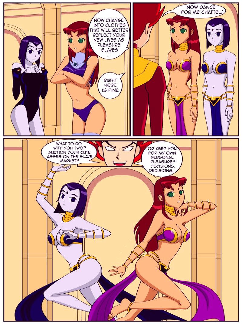 Teen titans vs ziziphus porn comic picture 2