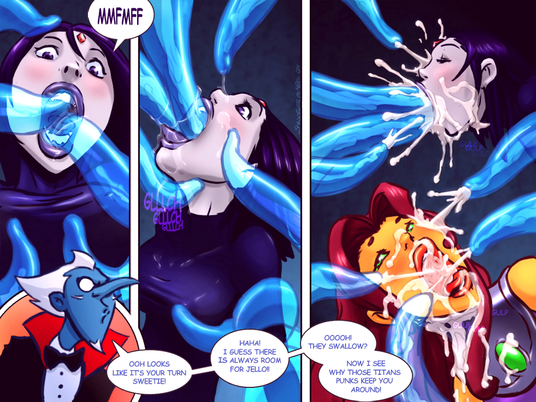 Tentacled titans porn comic picture 2