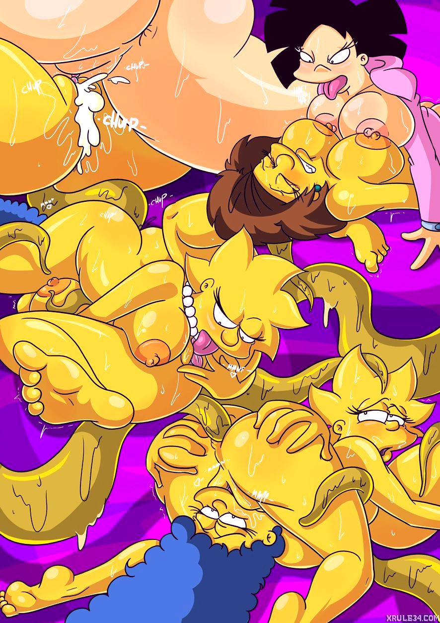The simpsons into the multiverse porn comic picture 28