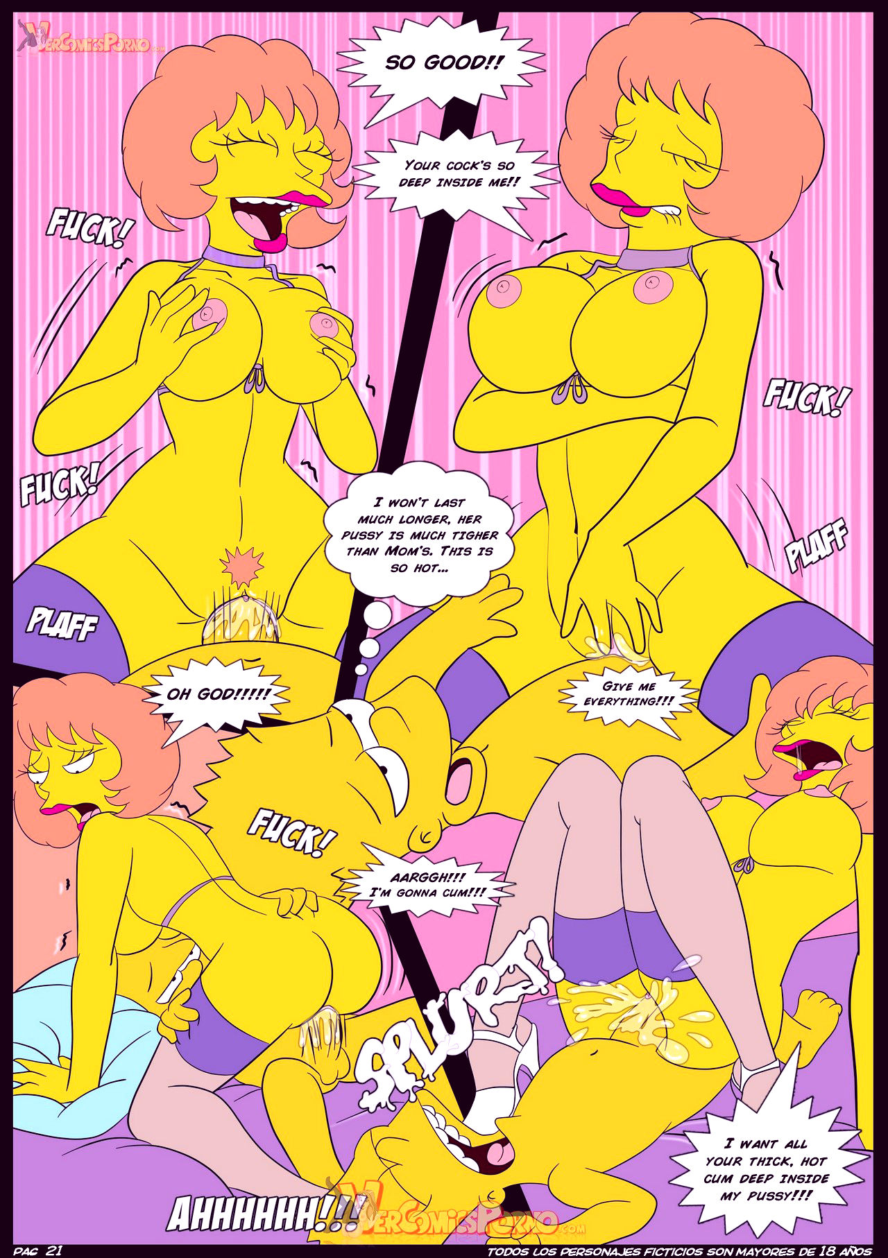 The simpsons old habits 4 an unexpected visit porn comic picture 22