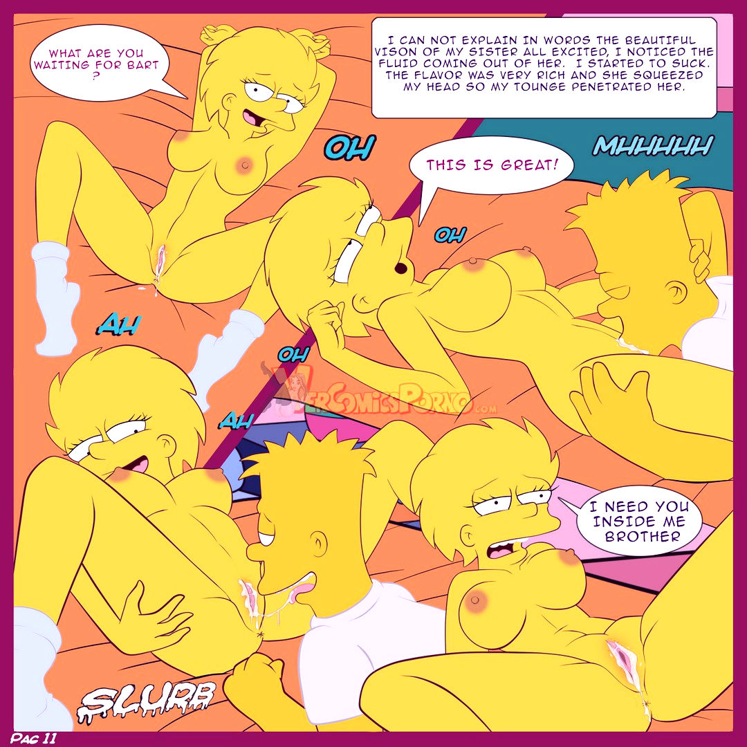 The simpsons old habits porn comic picture 12