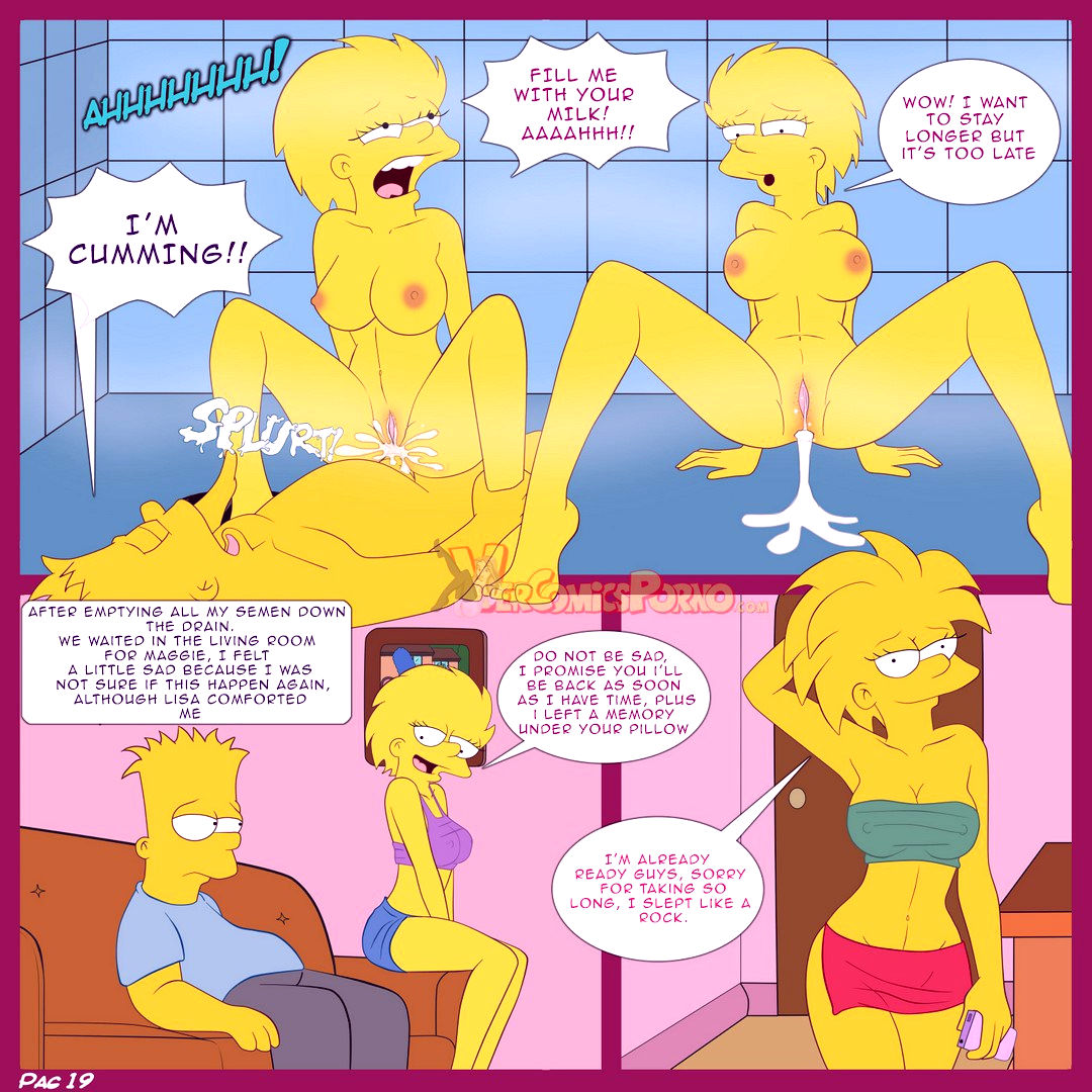 The simpsons old habits porn comic picture 20