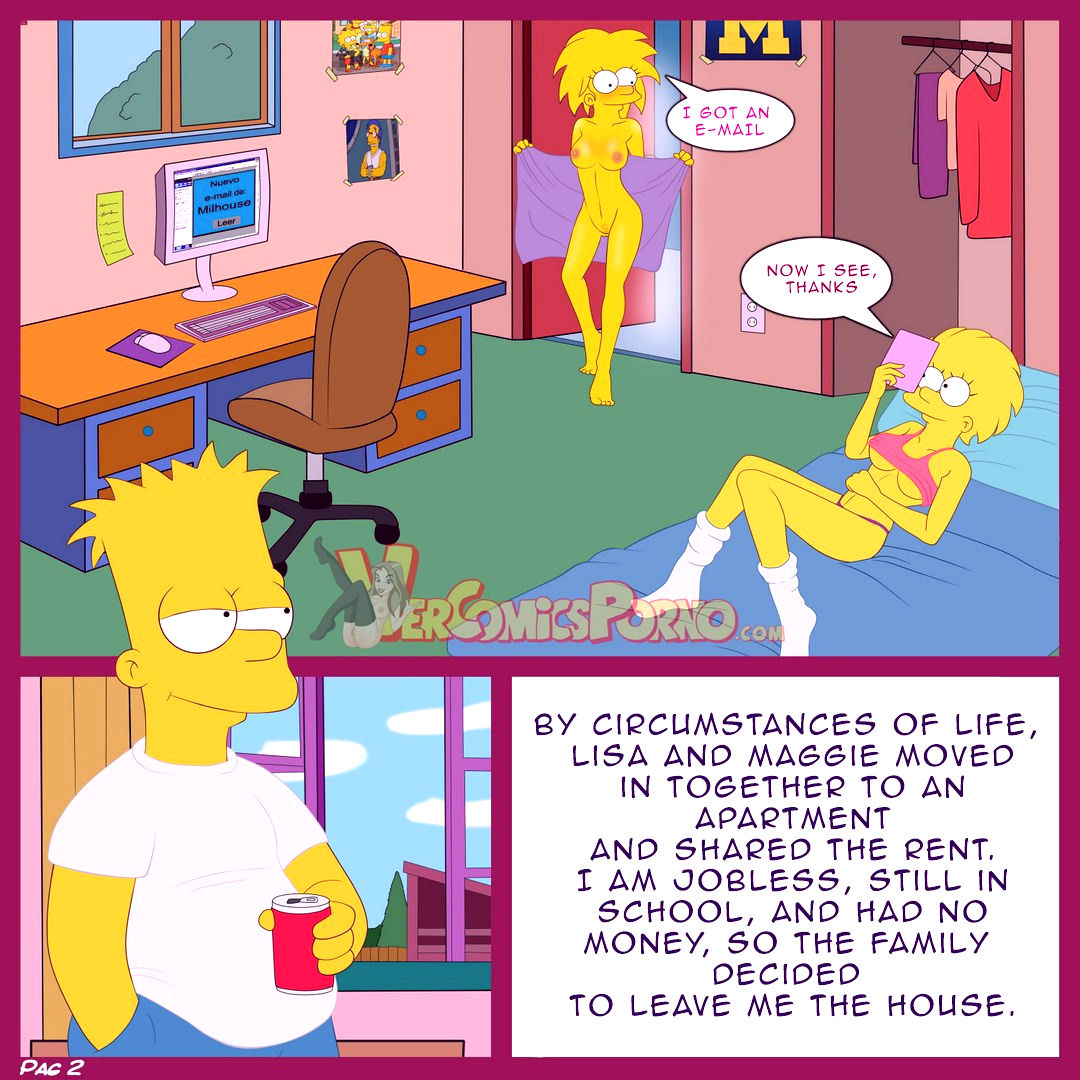 The simpsons old habits porn comic picture 3