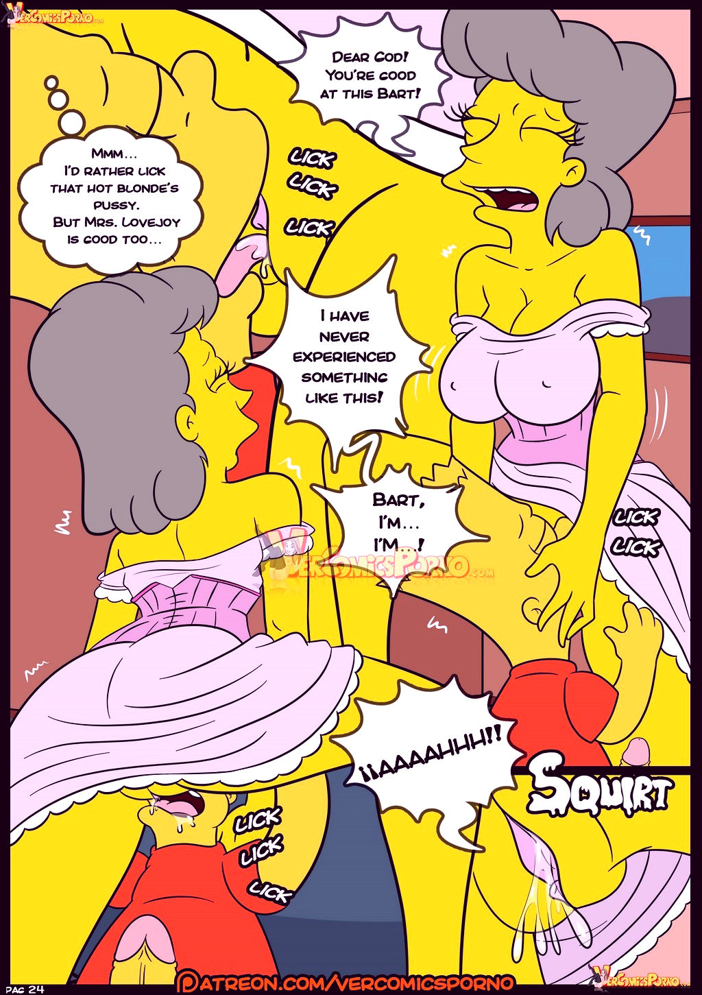 The simpsons old habits 8 porn comic picture 25