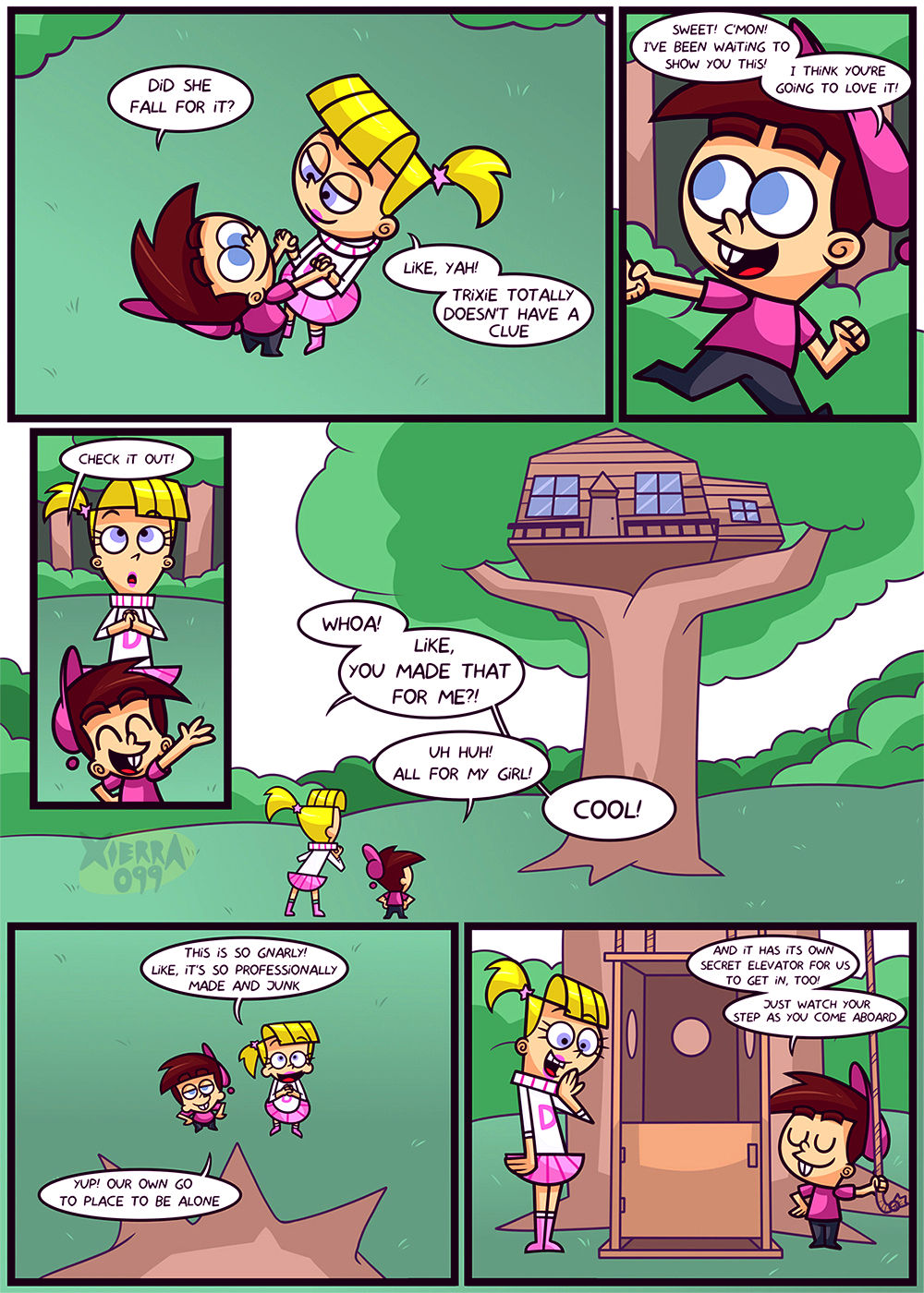 The tree house porn comic picture 10