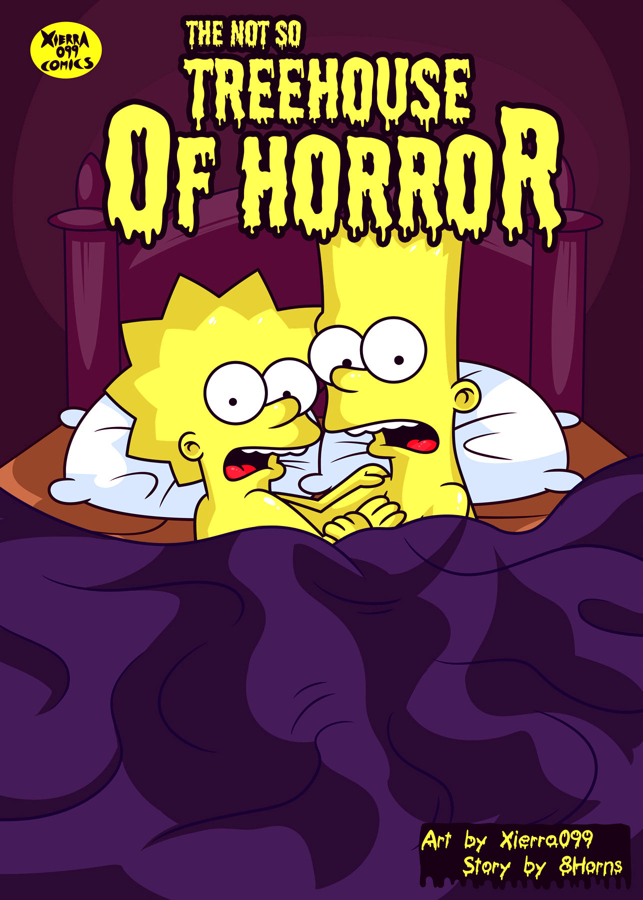 The not so treehouse of horror porn comic picture 1