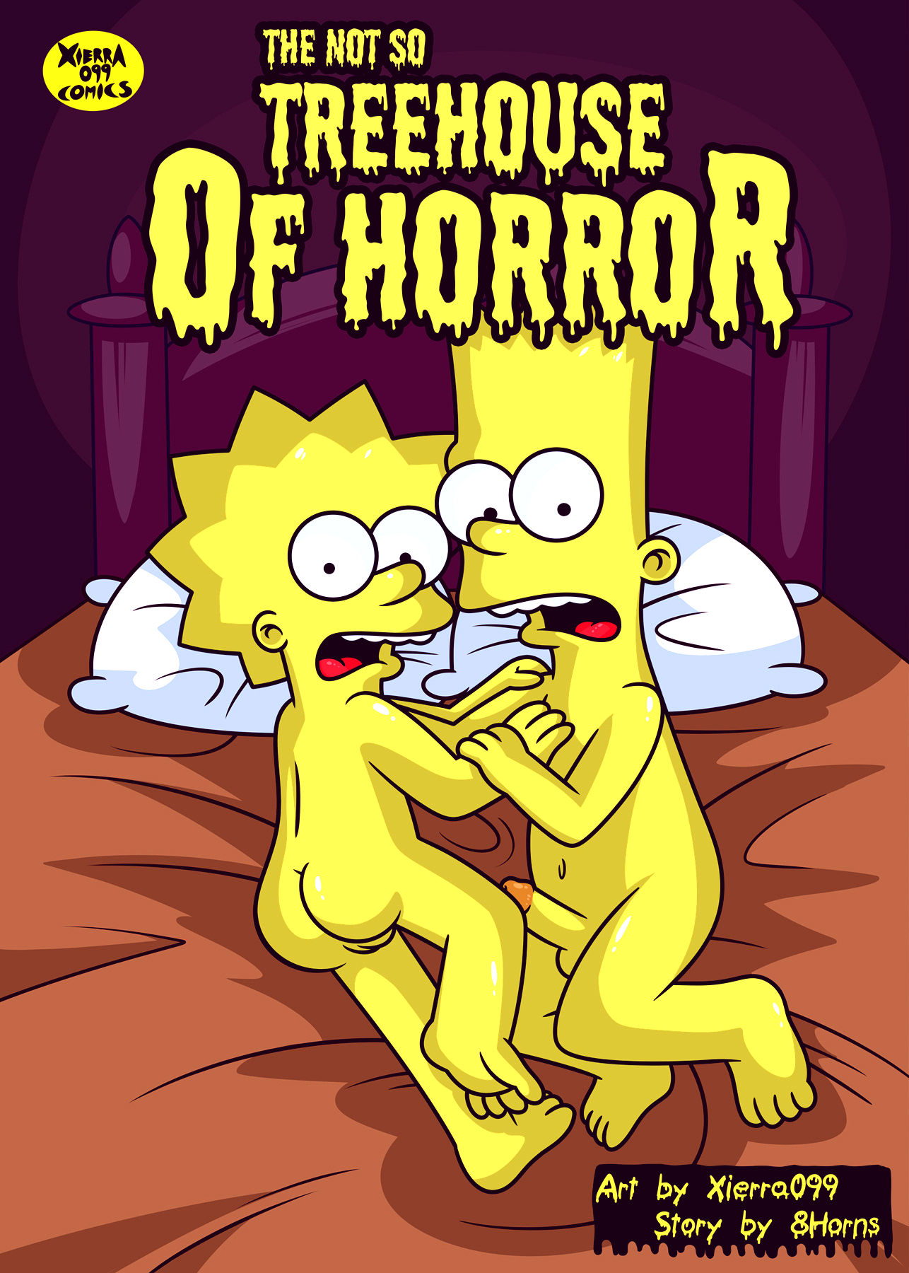 The not so treehouse of horror porn comic picture 2