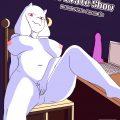 Toriel private show porn comic picture 1