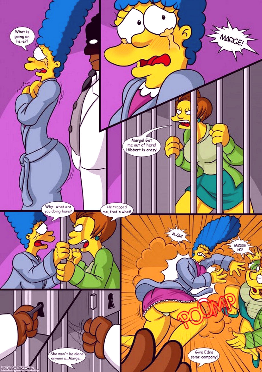 Treehouse of horror 1 porn comic picture 4