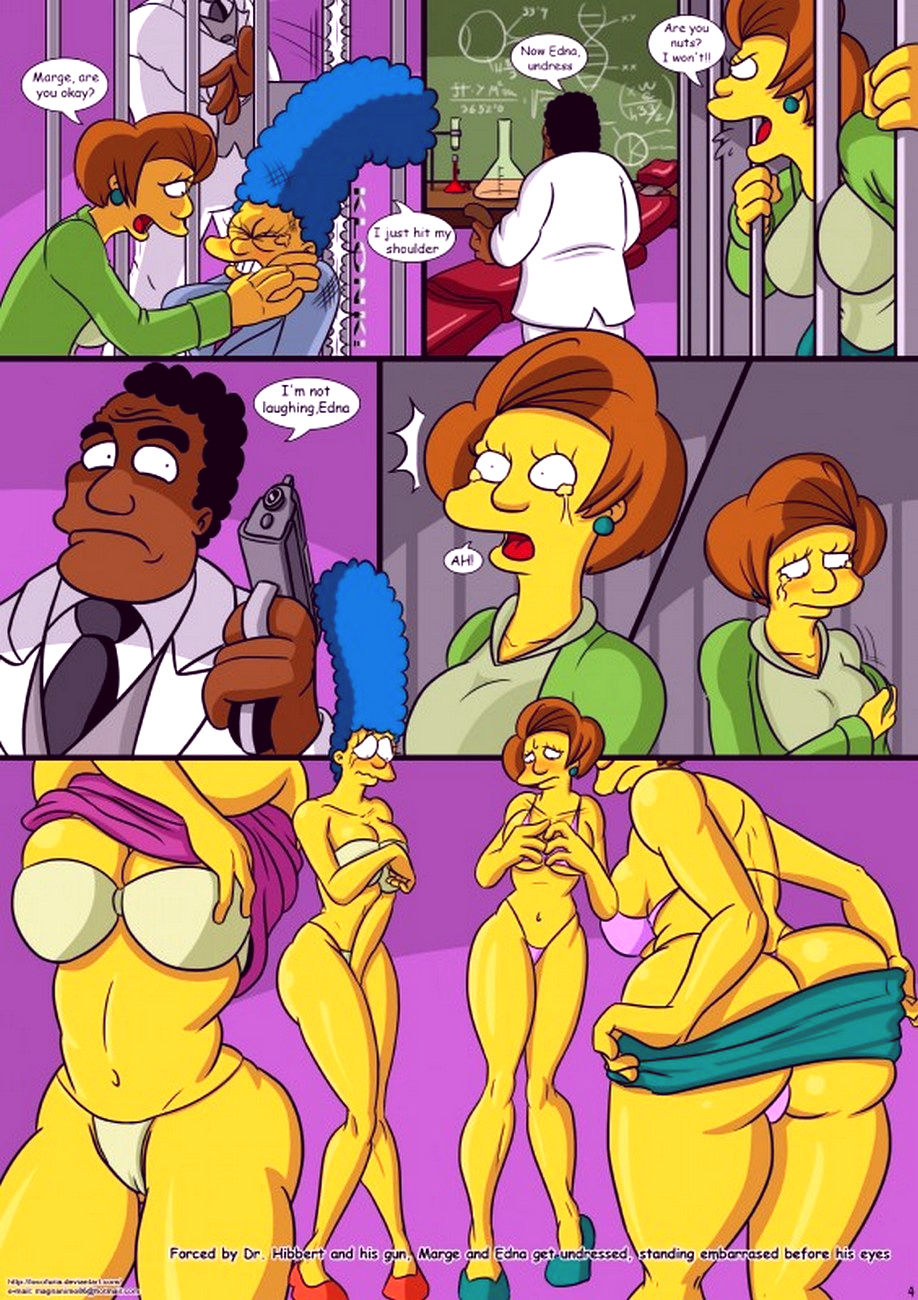 Treehouse of horror 1 porn comic picture 5