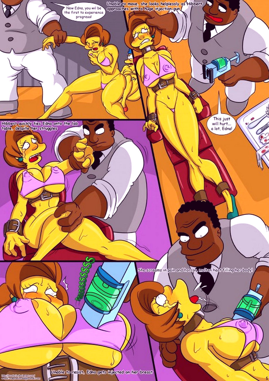 Treehouse of horror 1 porn comic picture 6