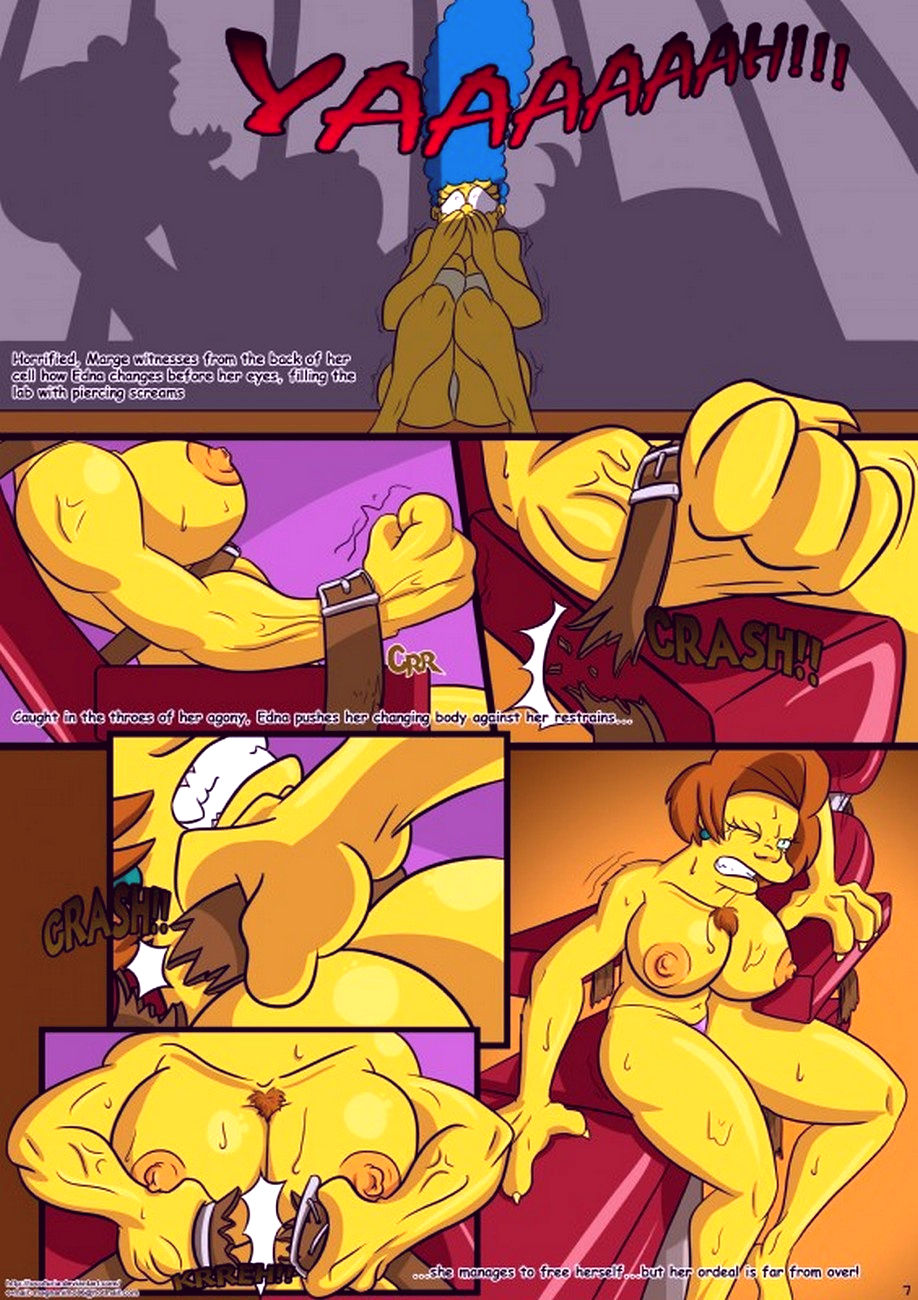 Treehouse of horror 1 porn comic picture 7