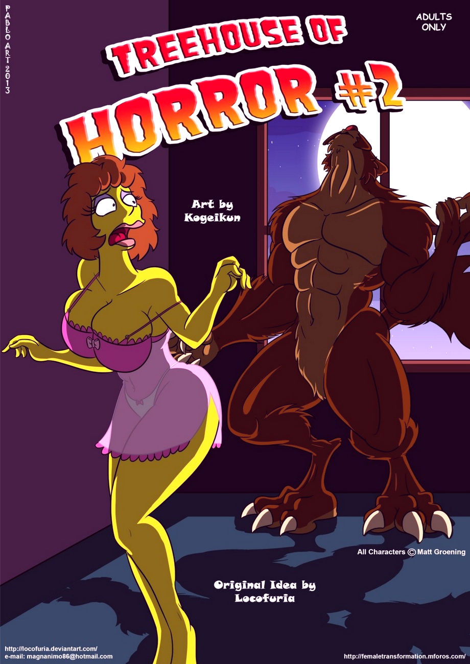 Treehouse of horror 2 porn comic picture 1