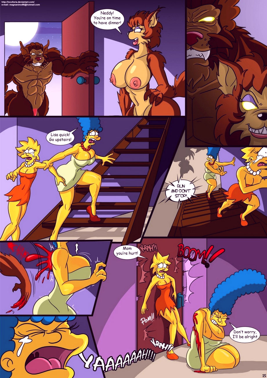 Treehouse of horror 2 porn comic picture 26
