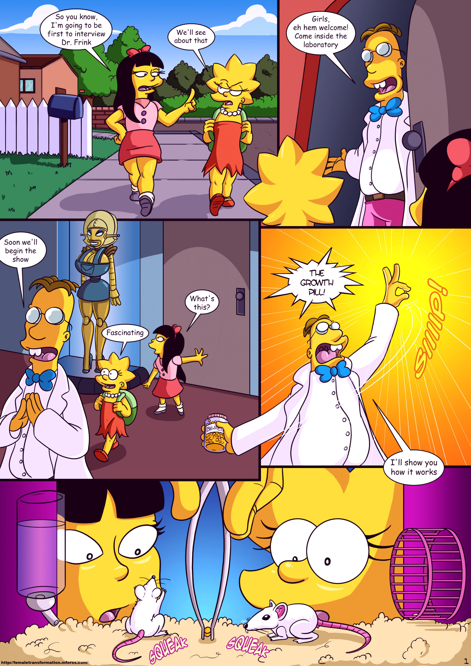 Treehouse of horror 3 porn comic picture 2