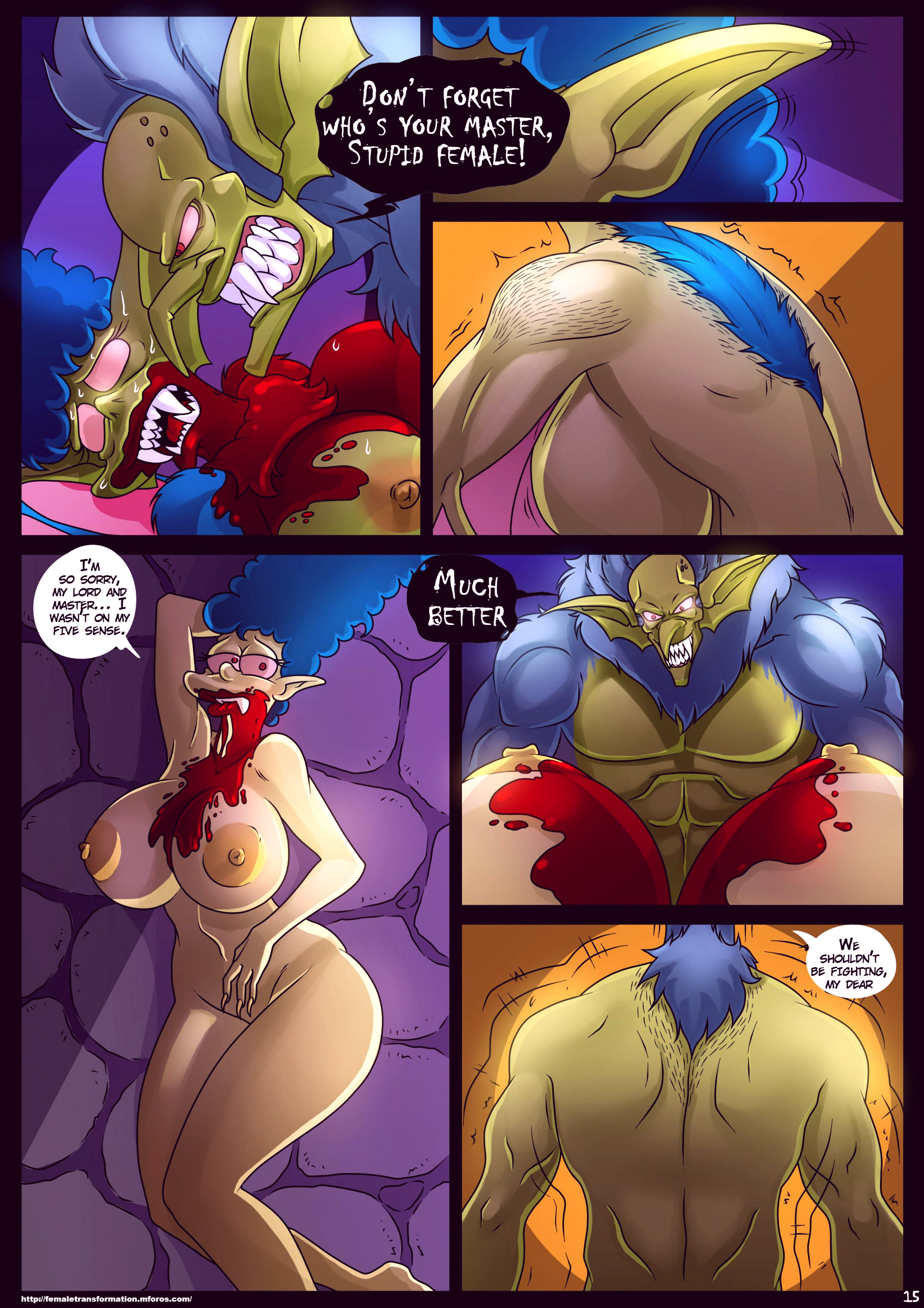 Treehouse of horror 4 porn comic picture 16