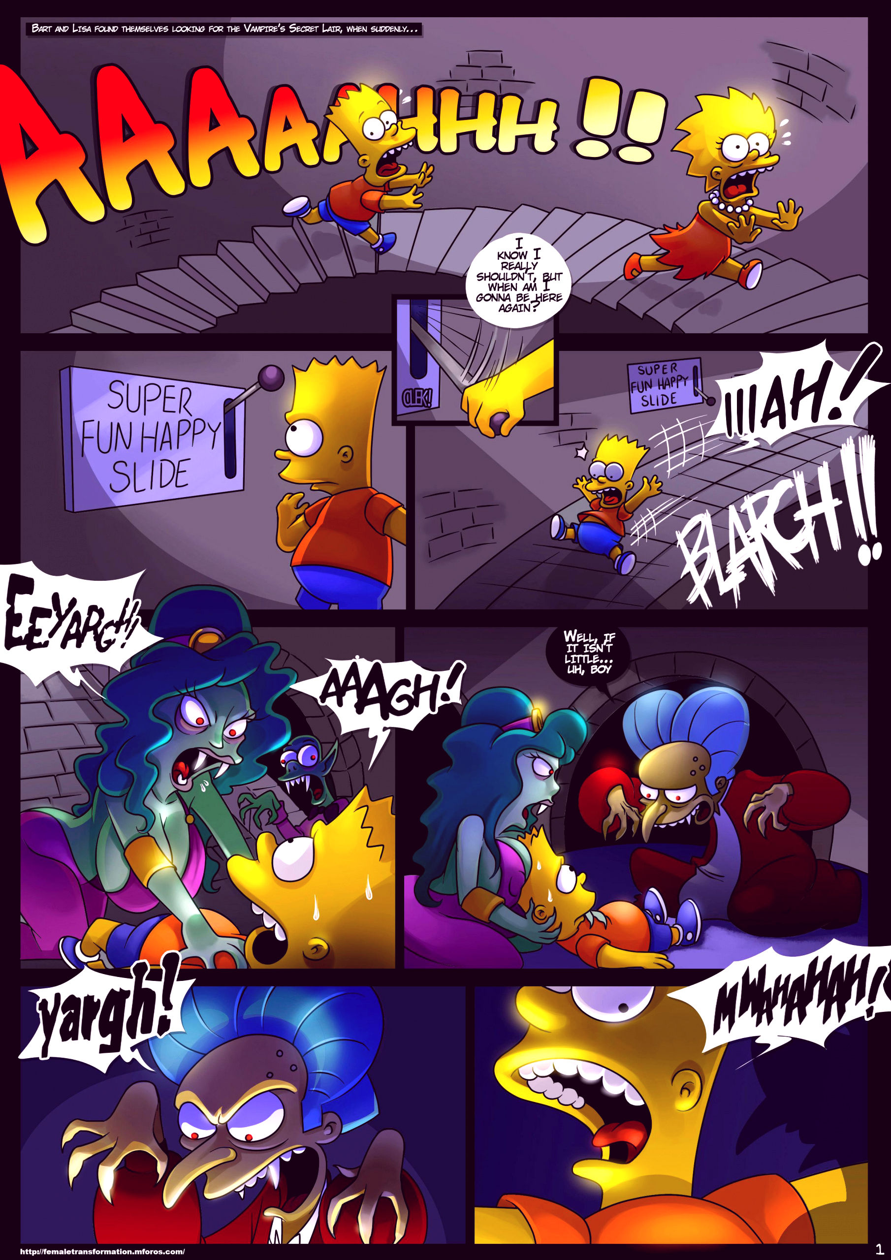 Treehouse of horror 4 porn comic picture 2