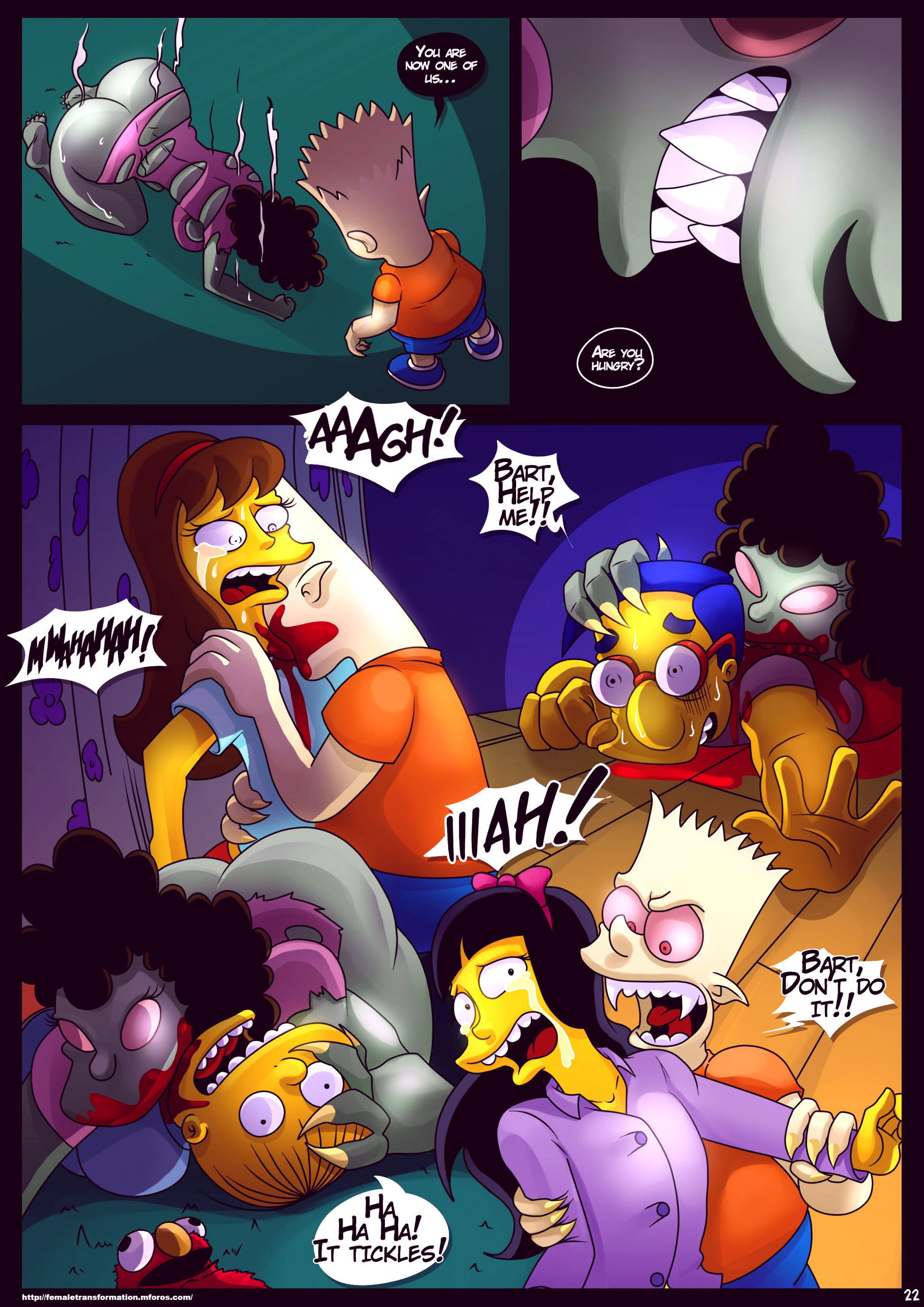 Treehouse of horror 4 porn comic picture 23