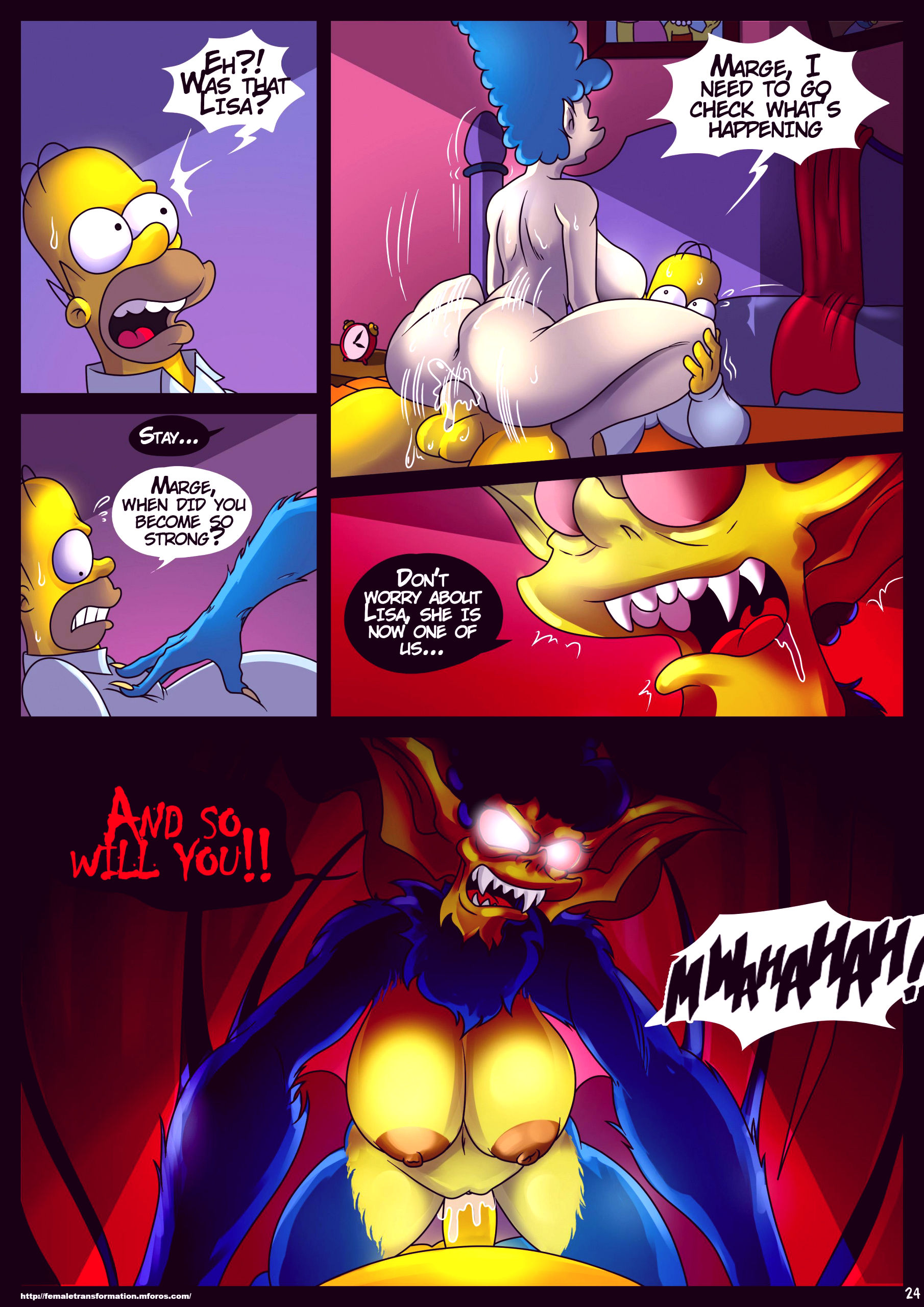 Treehouse of horror 4 porn comic picture 25