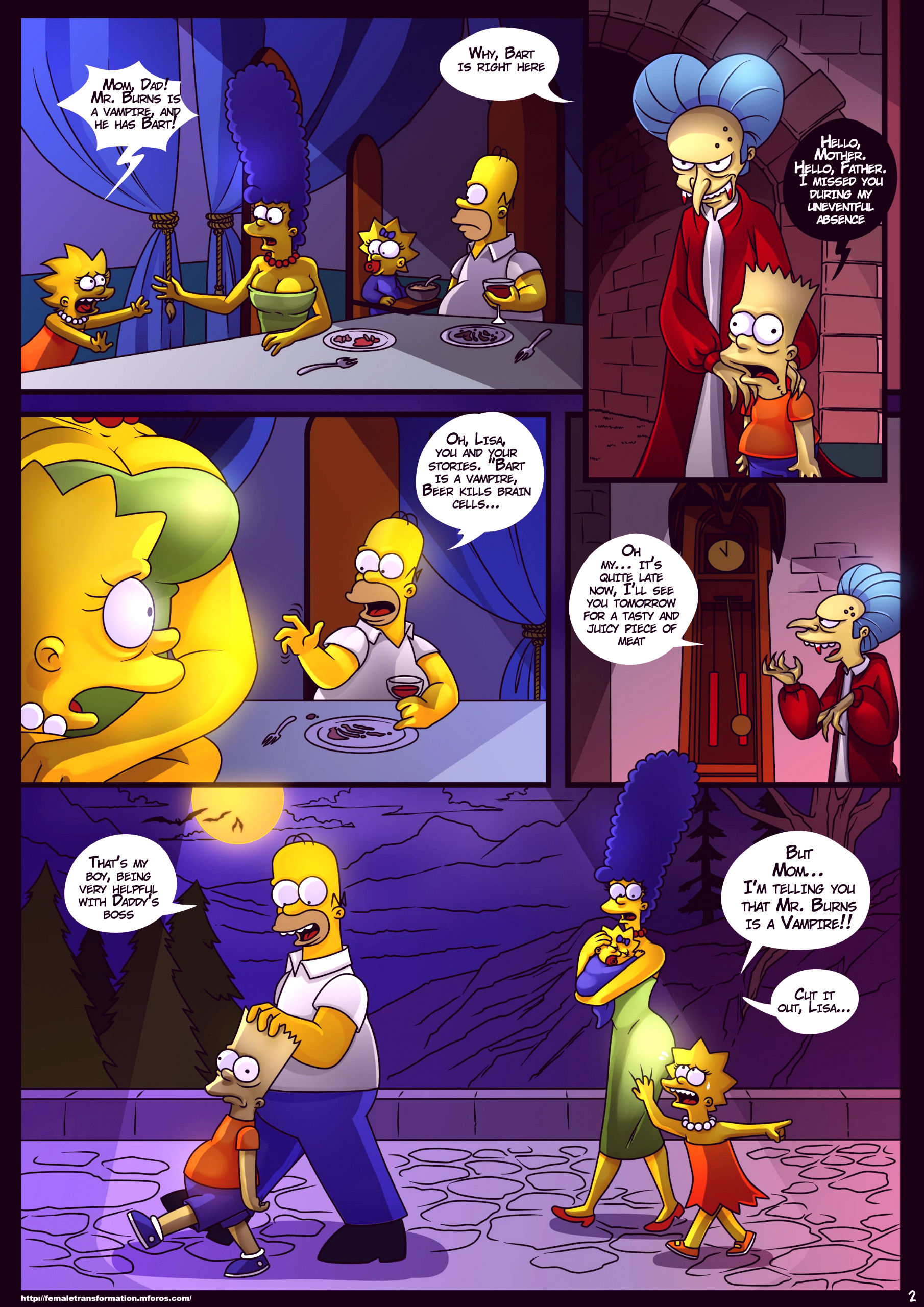 Treehouse of horror 4 porn comic picture 3