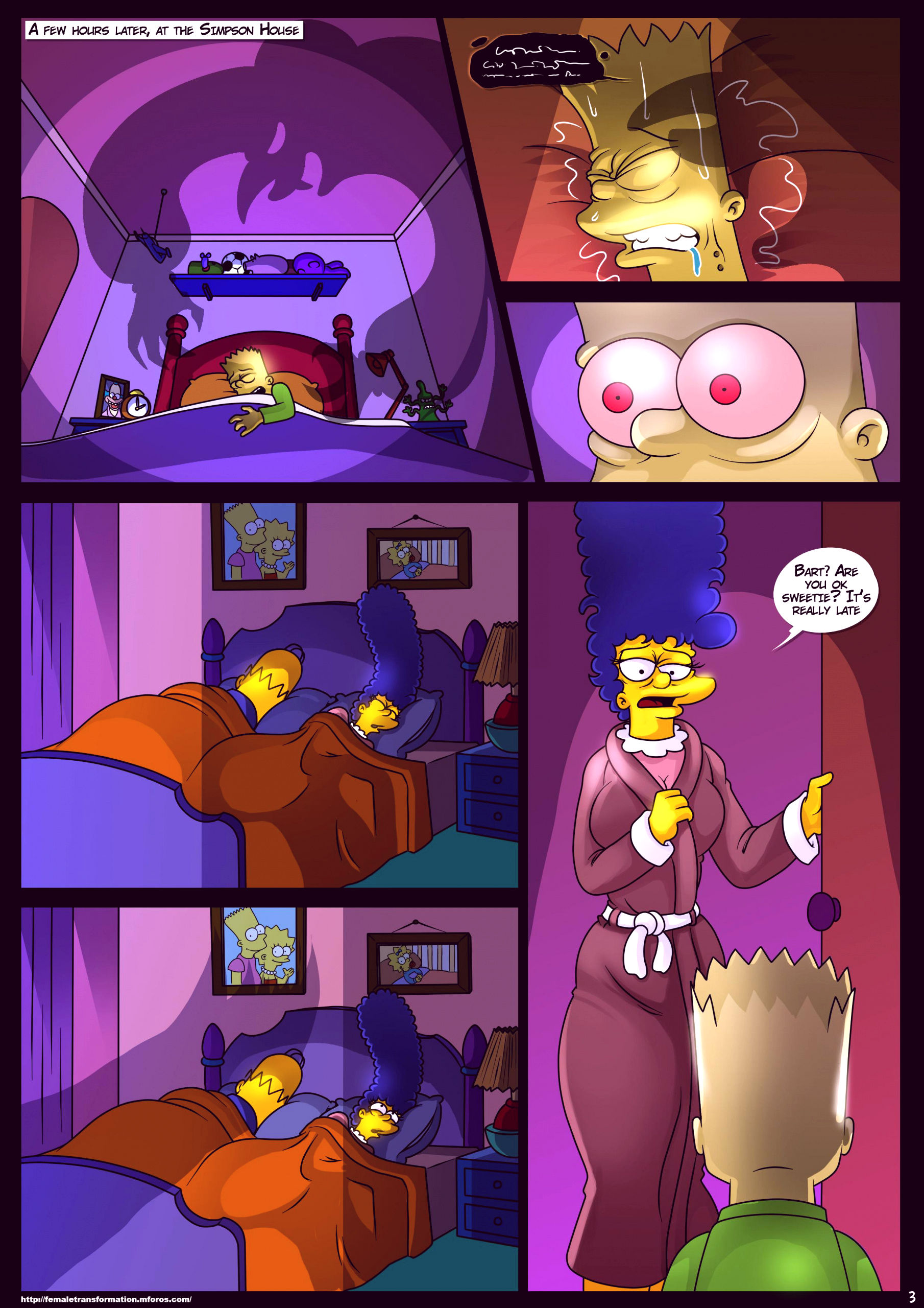 Treehouse of horror 4 porn comic picture 4