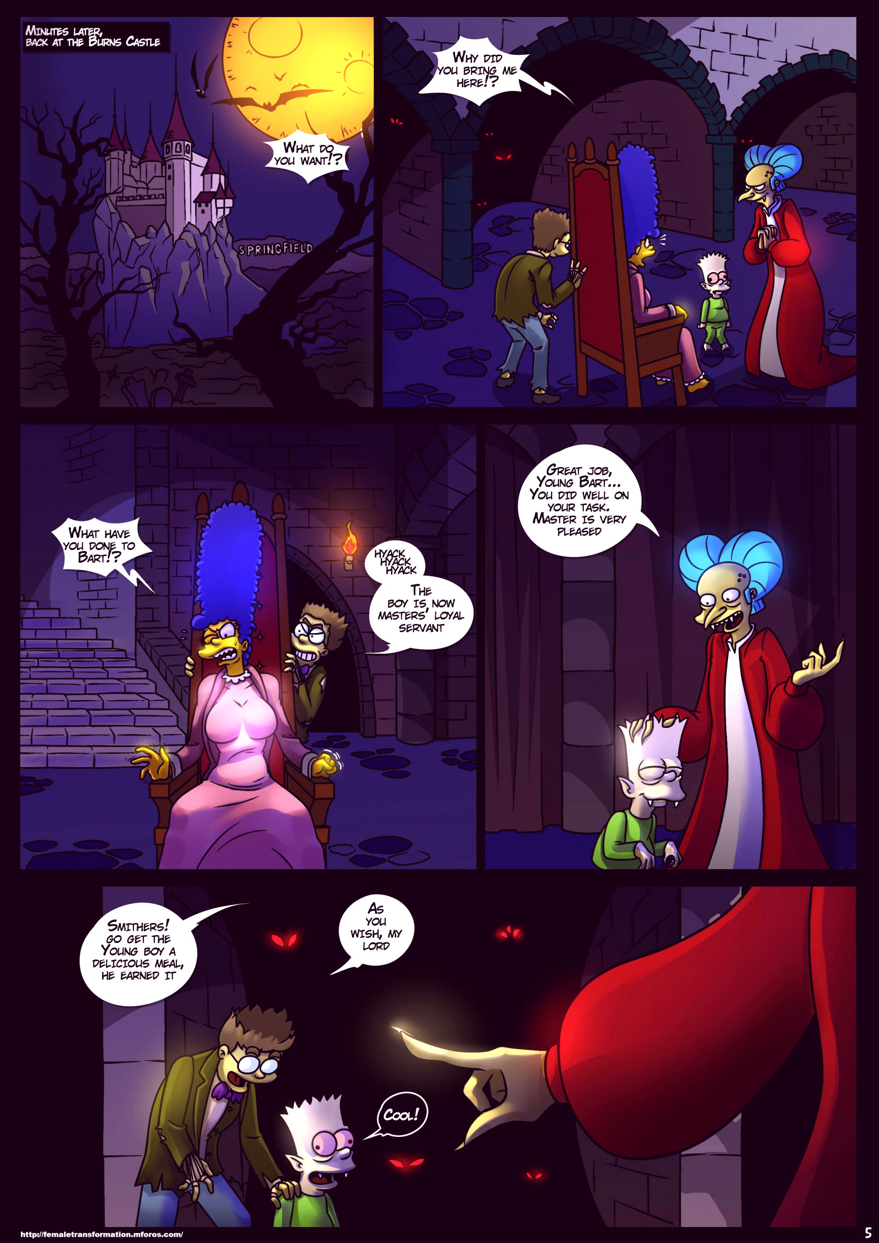 Treehouse of horror 4 porn comic picture 6