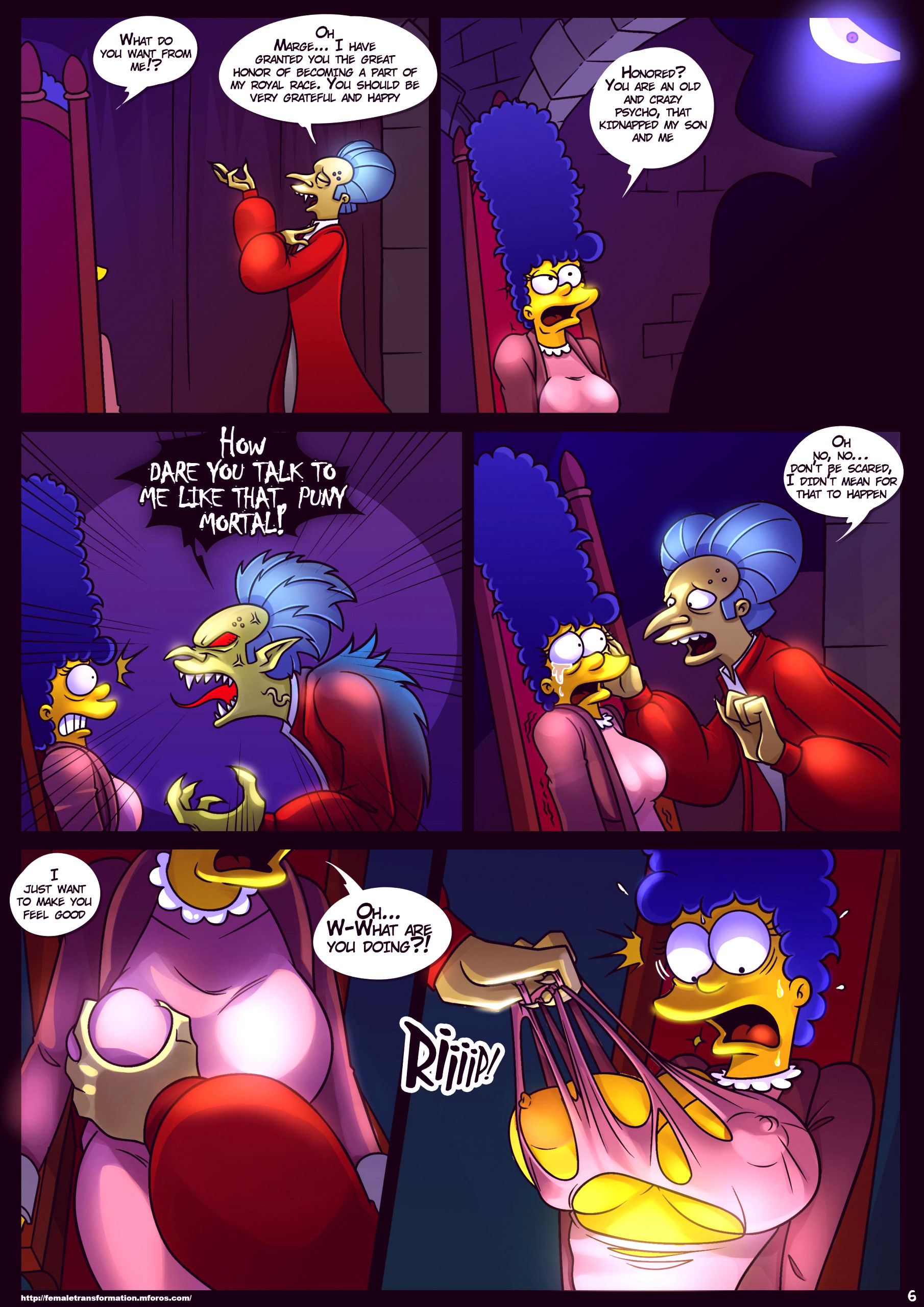 Treehouse of horror 4 porn comic picture 7