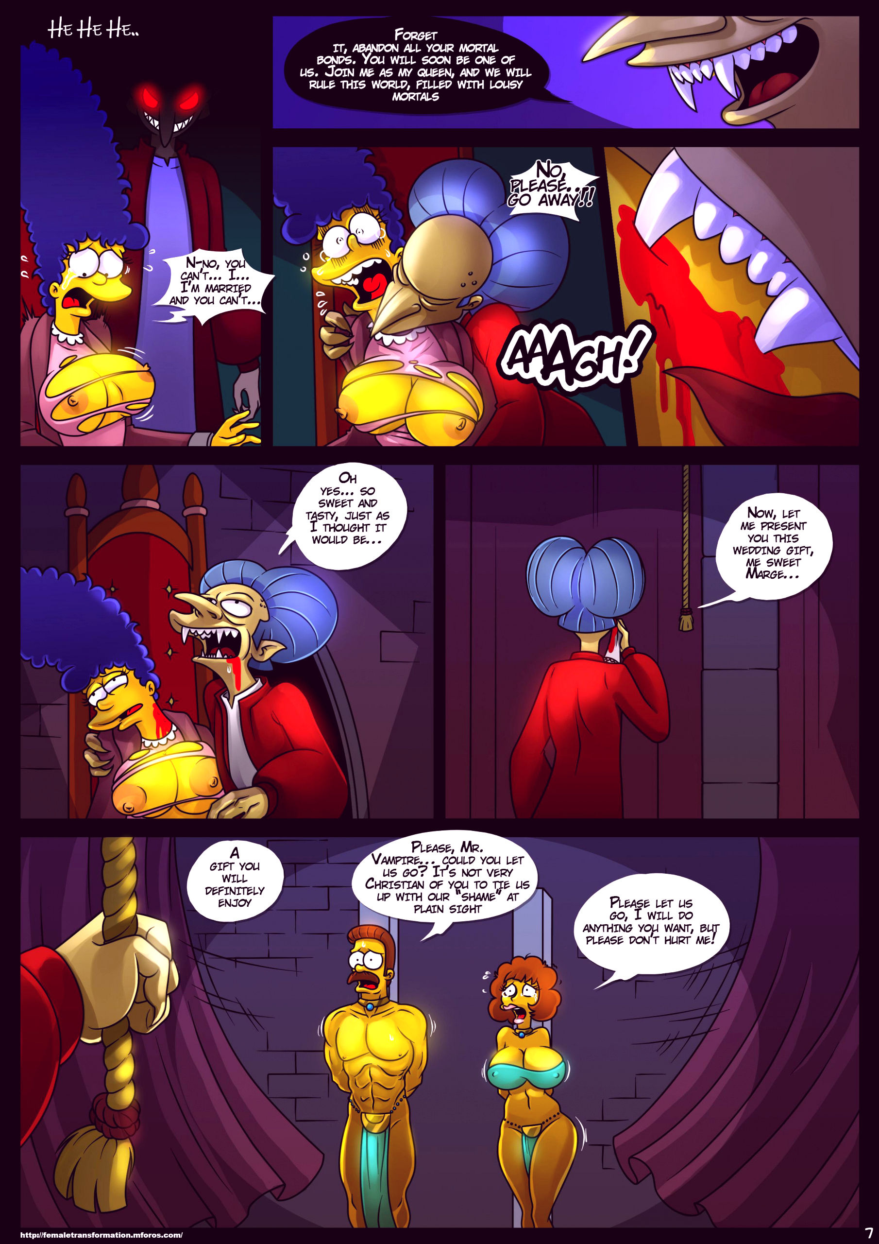 Treehouse of horror 4 porn comic picture 8