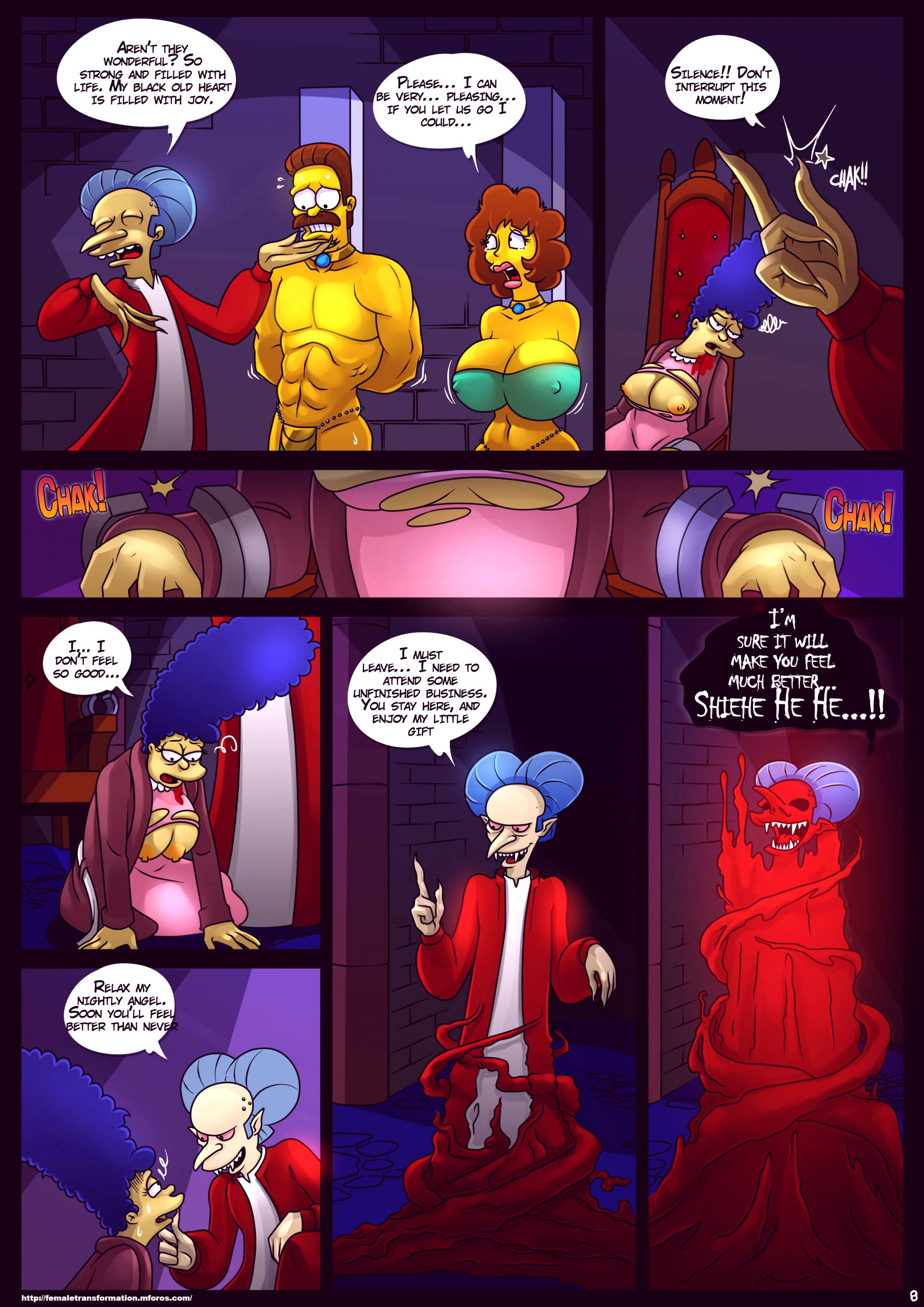 Treehouse of horror 4 porn comic picture 9