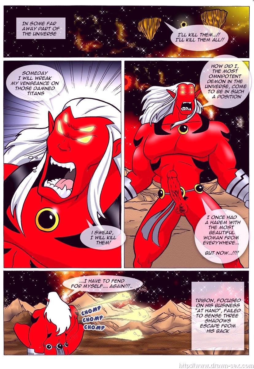 Trigons dark desires porn comic picture 2