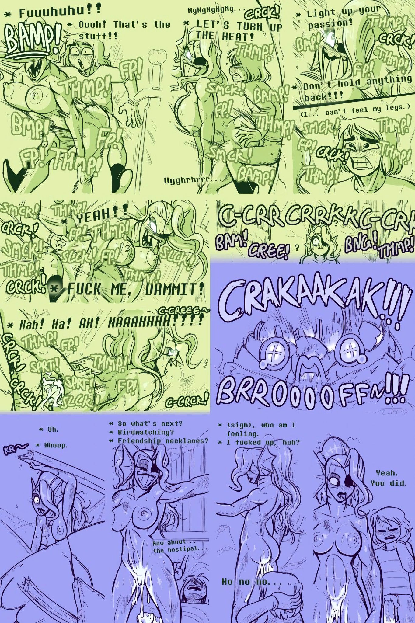 Underhertail monster girledition 4 porn comic picture 16