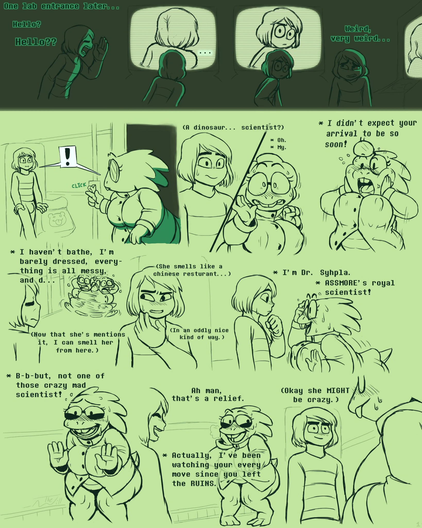 Underhertail monster girledition 4 porn comic picture 2